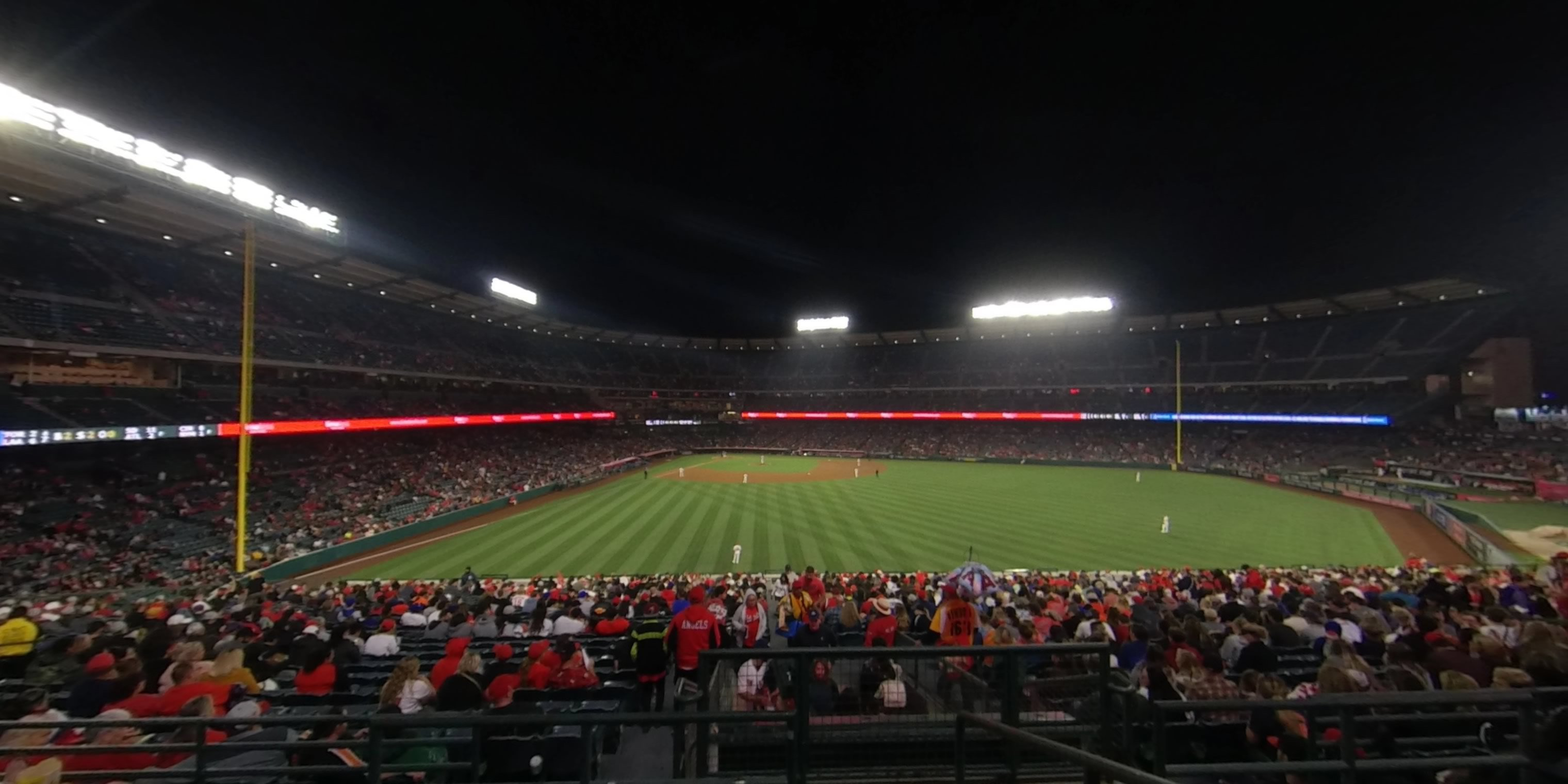 360° Photo From Angel Stadium Section 246