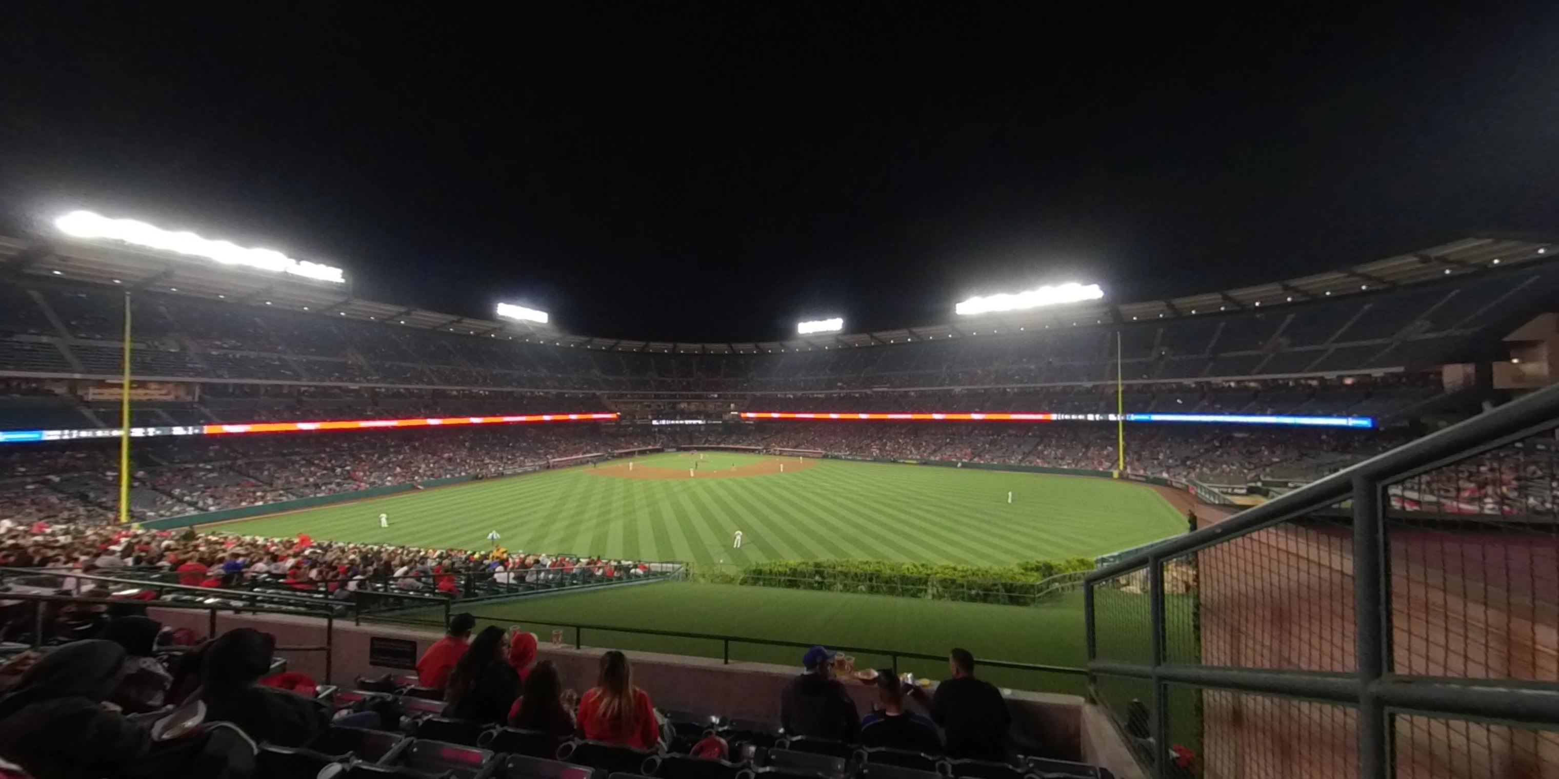 360° Photo From Angel Stadium Section 249