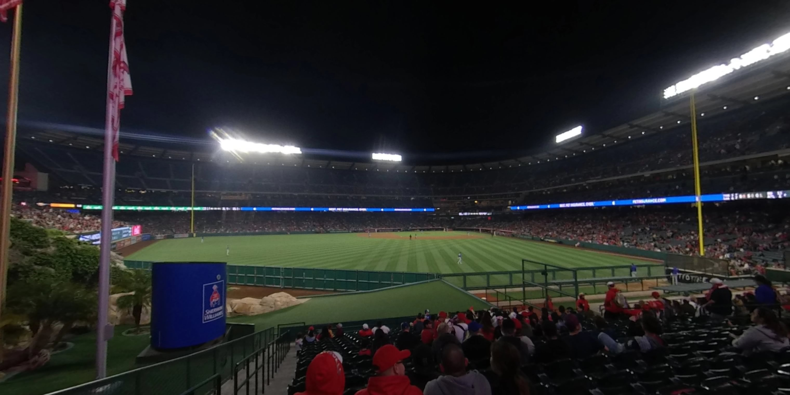 360° Photo From Angel Stadium Section 257