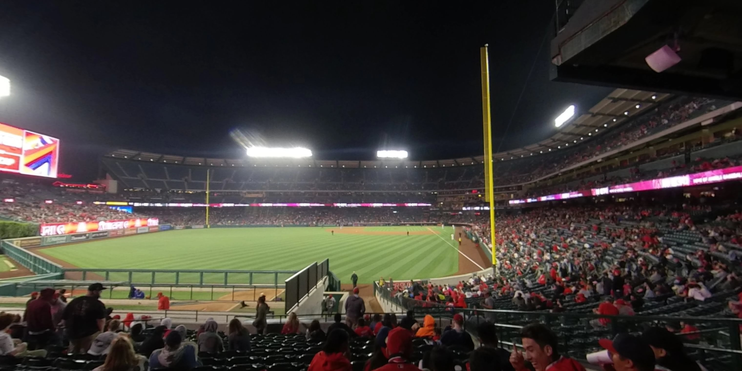 360° Photo From Angel Stadium Section 260