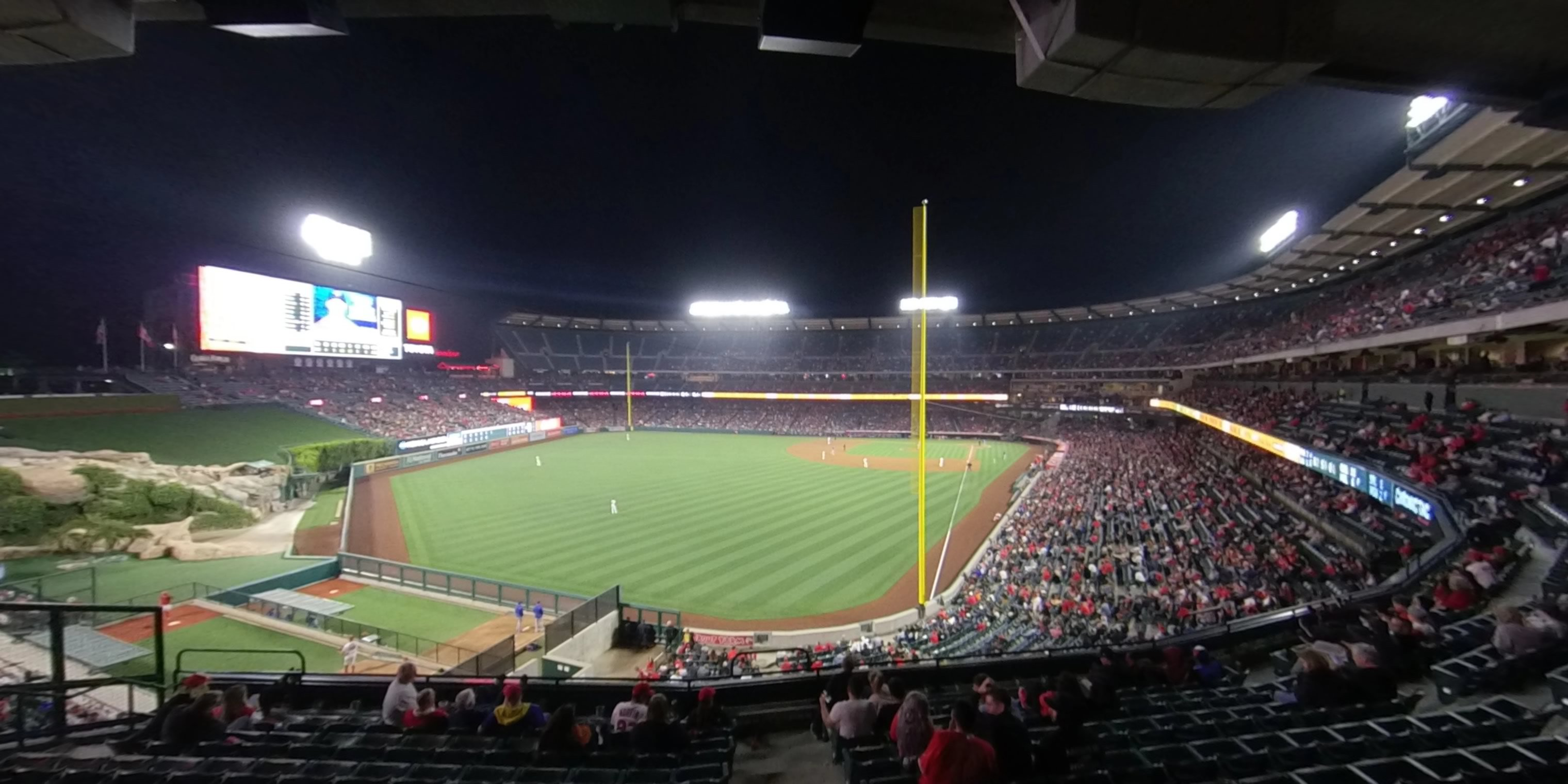 360° Photo From Angel Stadium Section 301