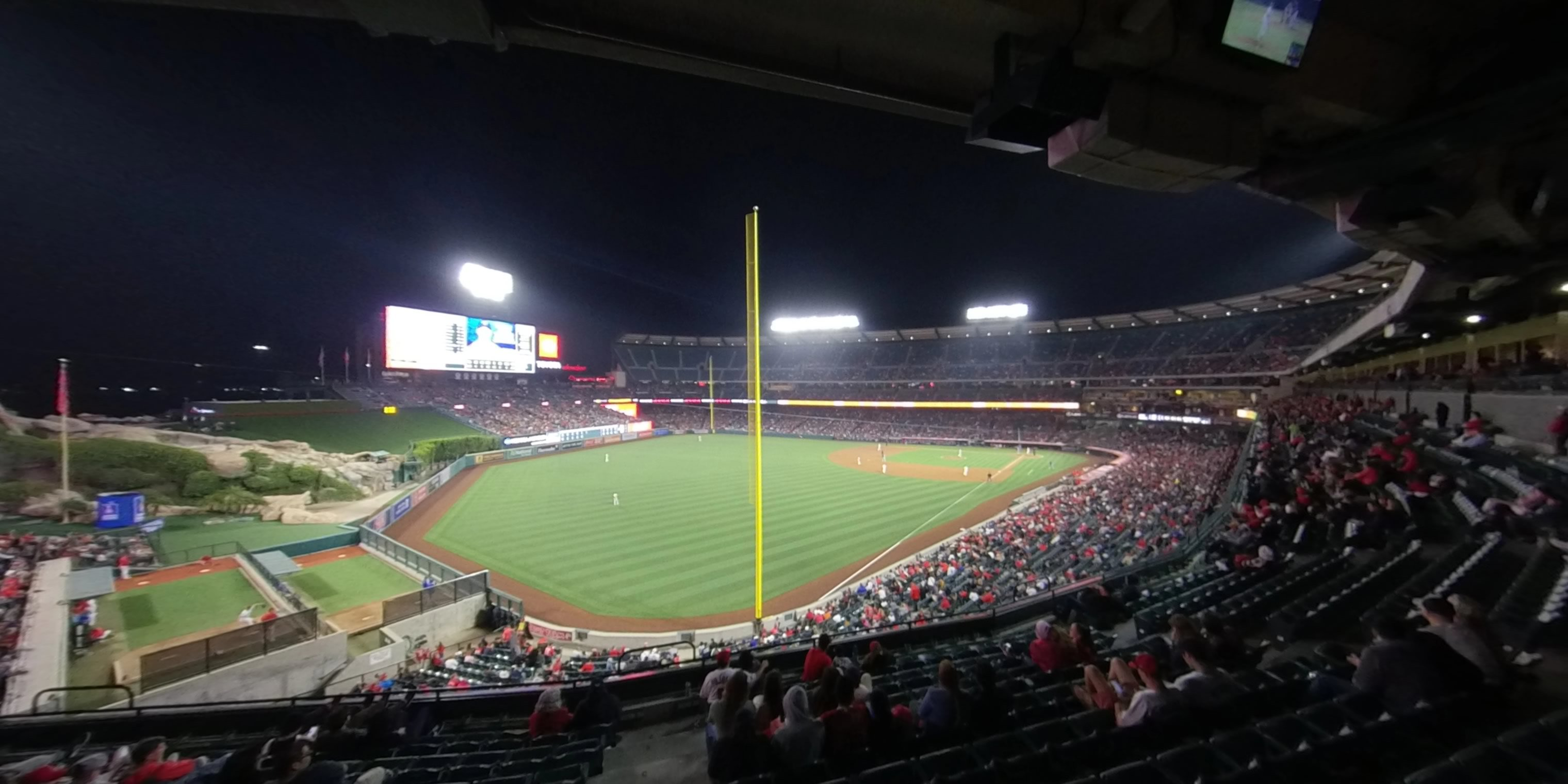 360° Photo From Angel Stadium Section 305
