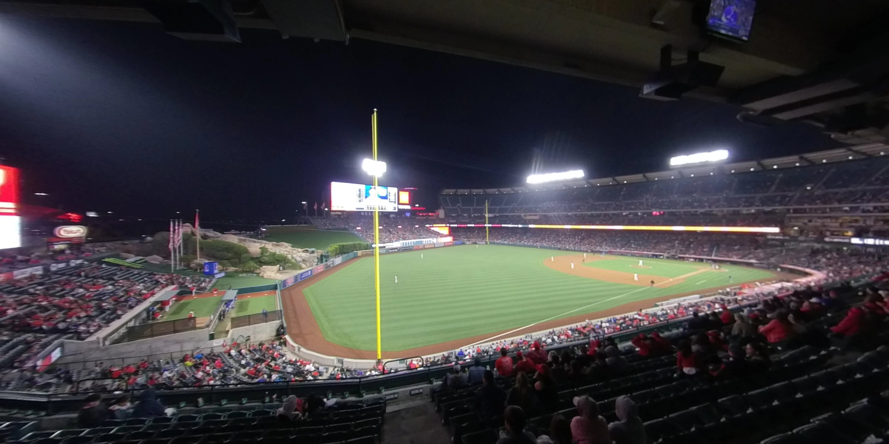 360° Photo From Angel Stadium Section 307