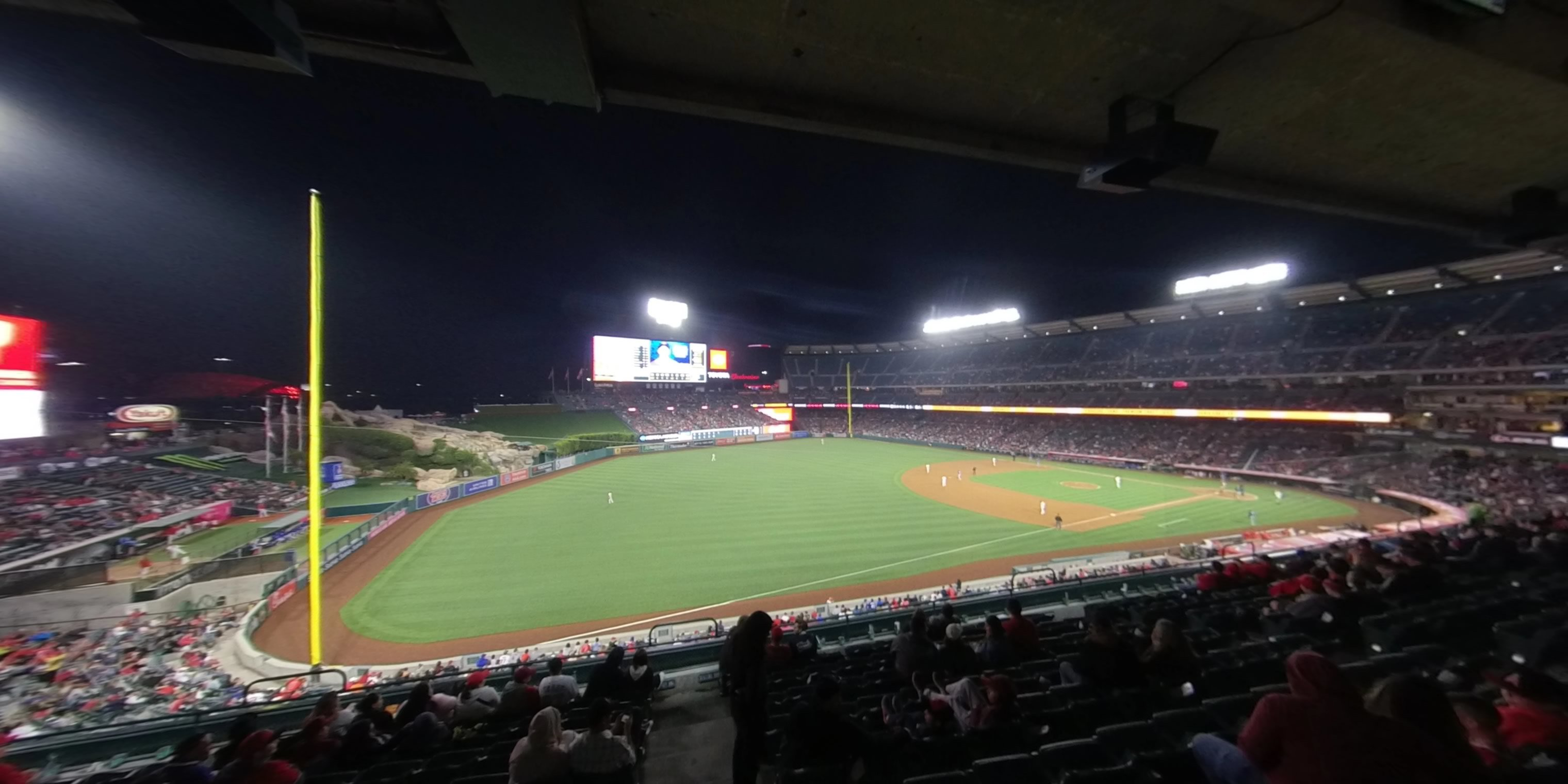 360° Photo From Angel Stadium Section 311