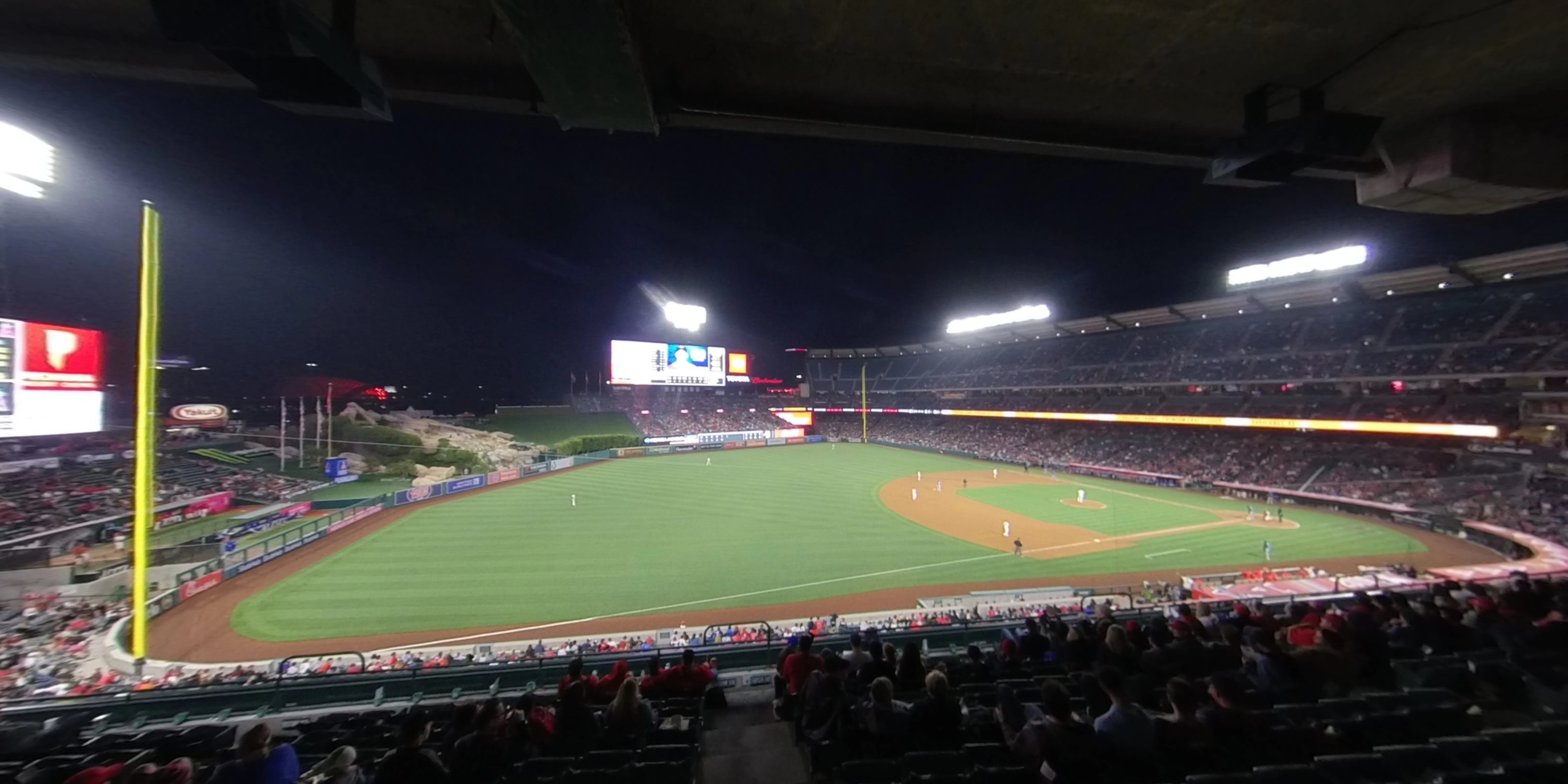 360° Photo From Angel Stadium Section 313