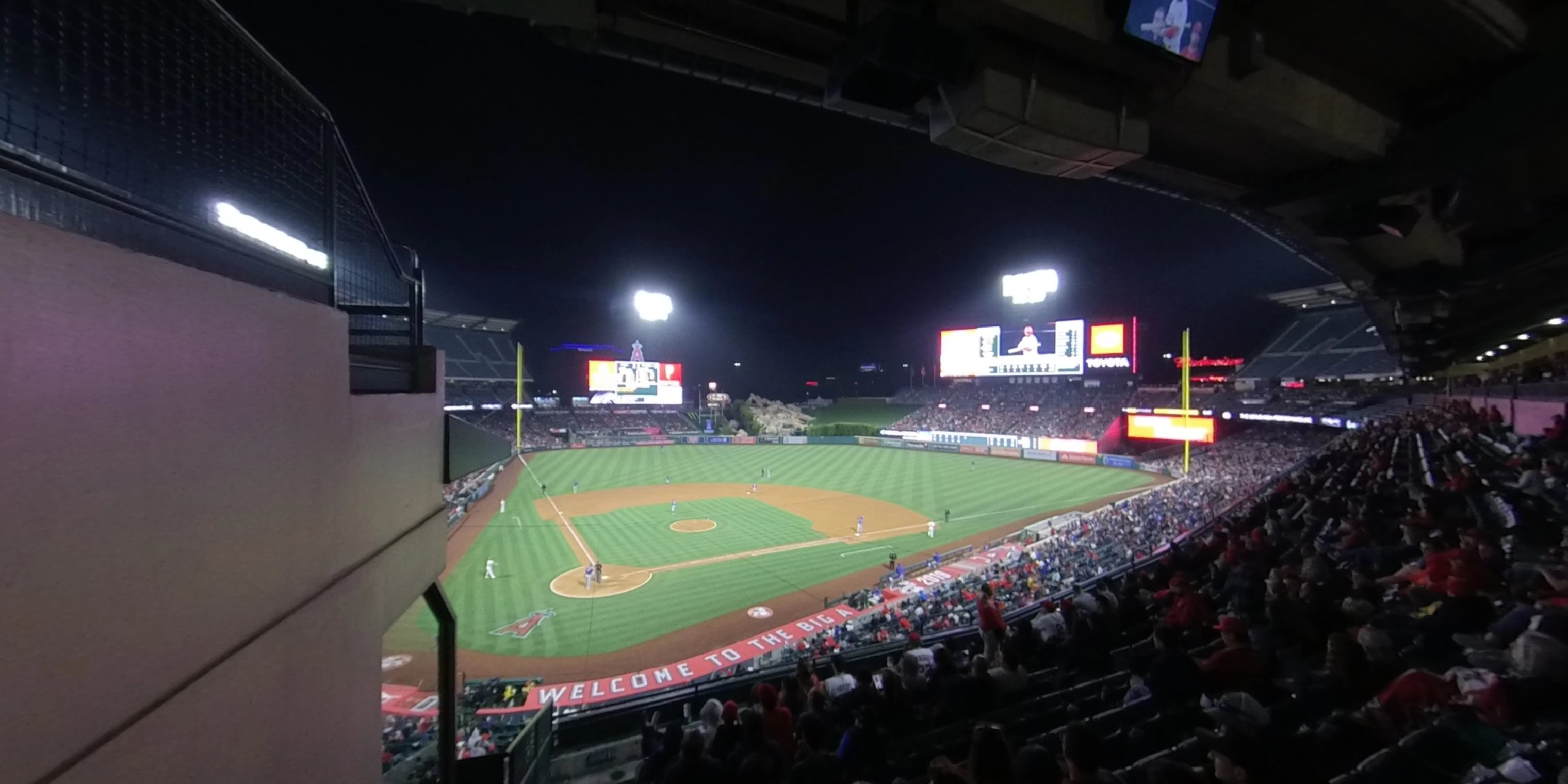 360° Photo From Angel Stadium Section 330