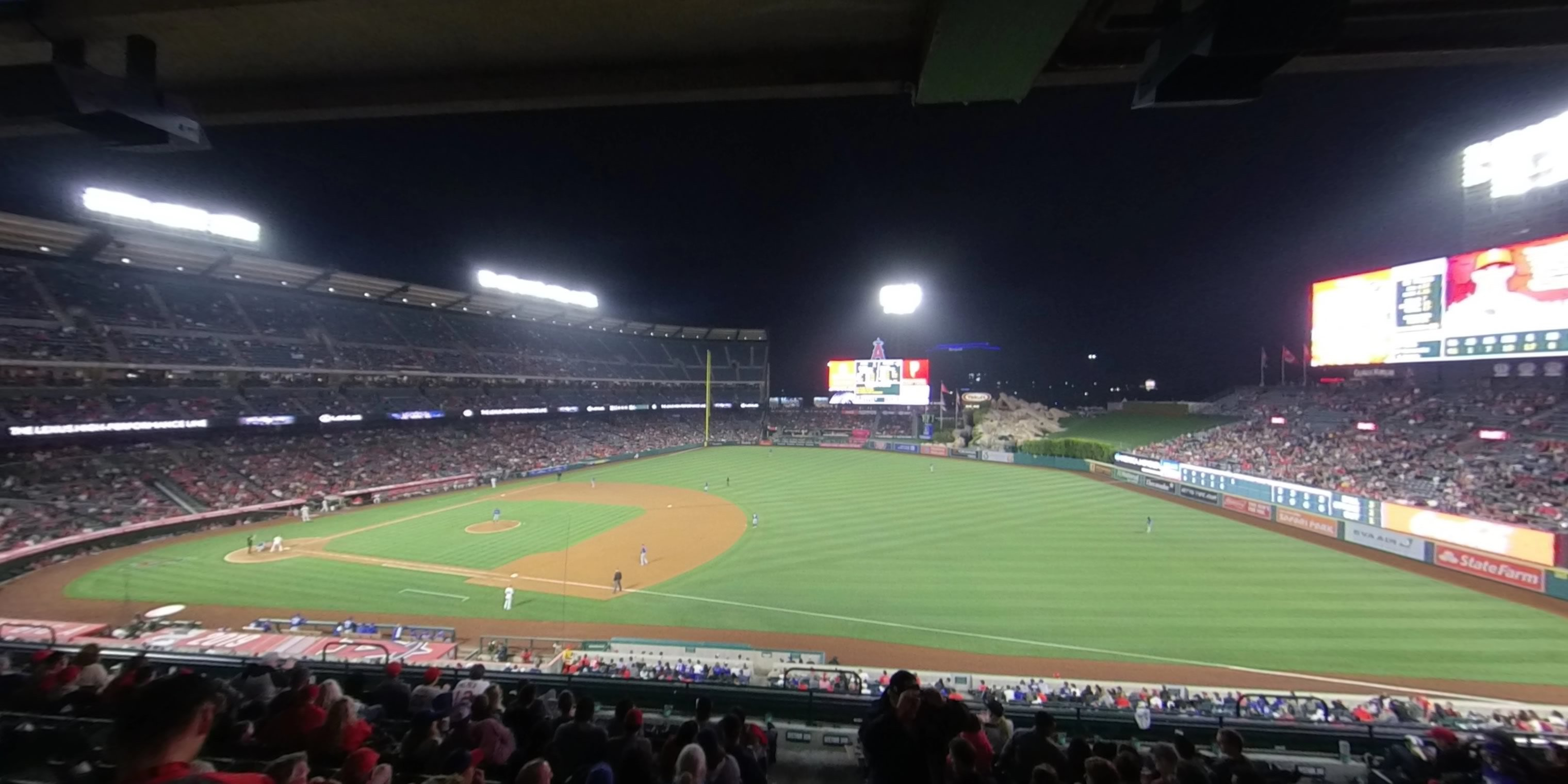 360° Photo From Angel Stadium Section 338