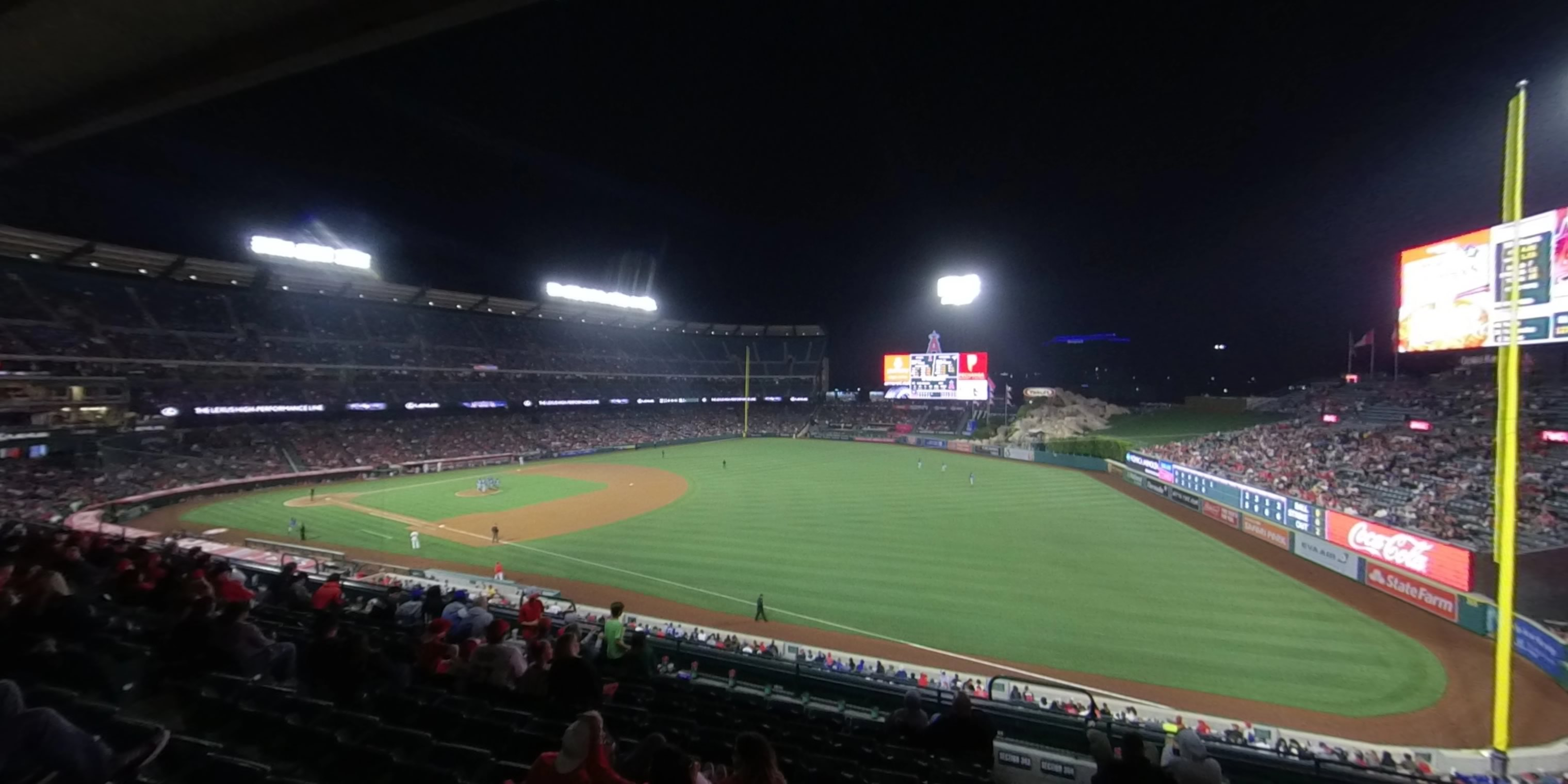 360° Photo From Angel Stadium Section 340