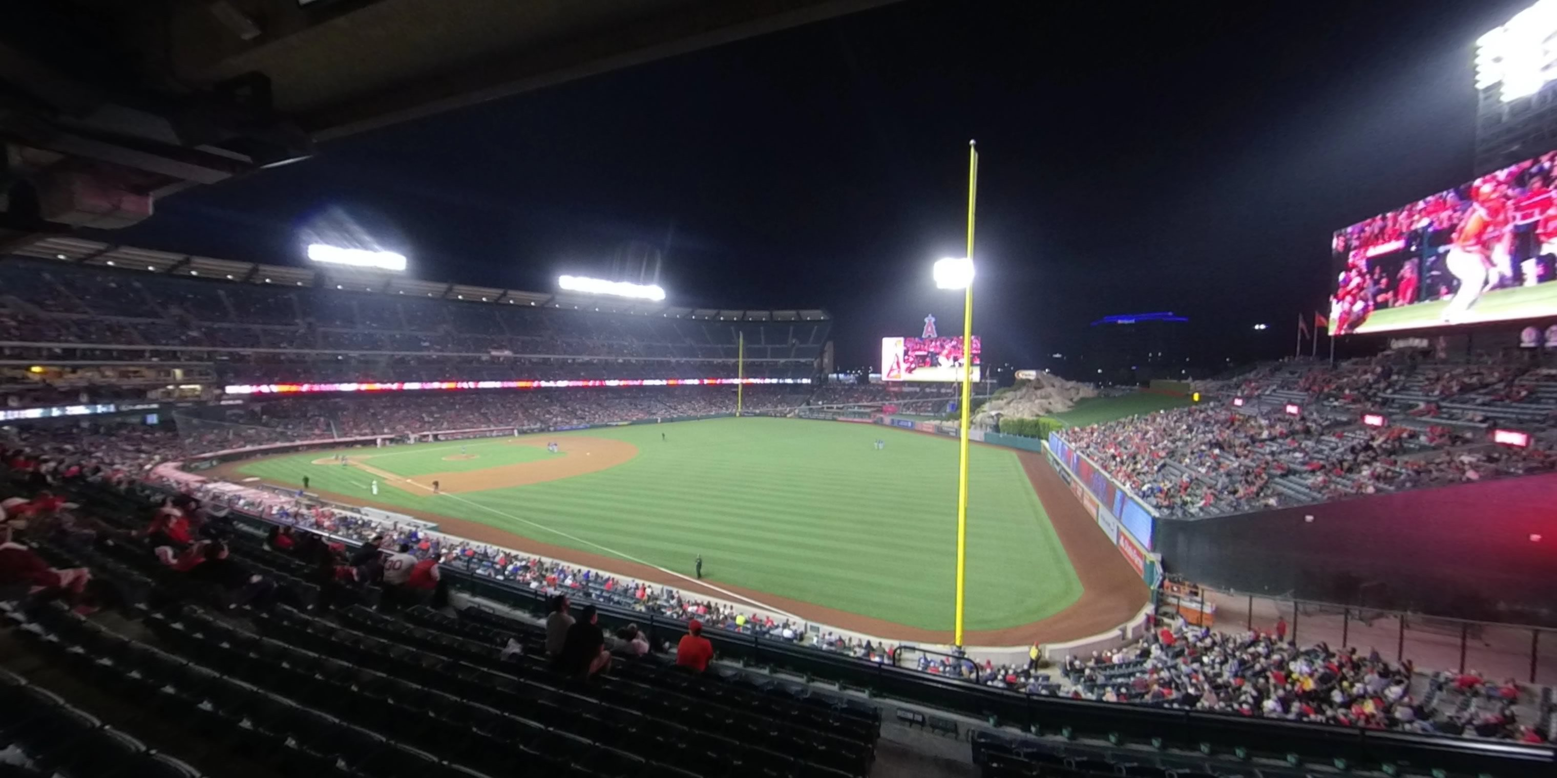 360° Photo From Angel Stadium Section 343