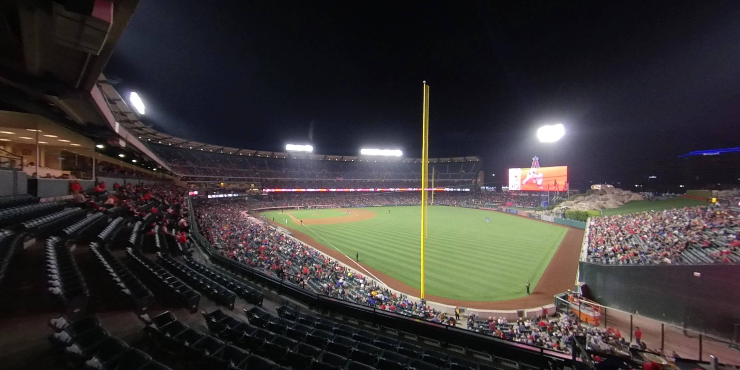 360° Photo From Angel Stadium Section 346