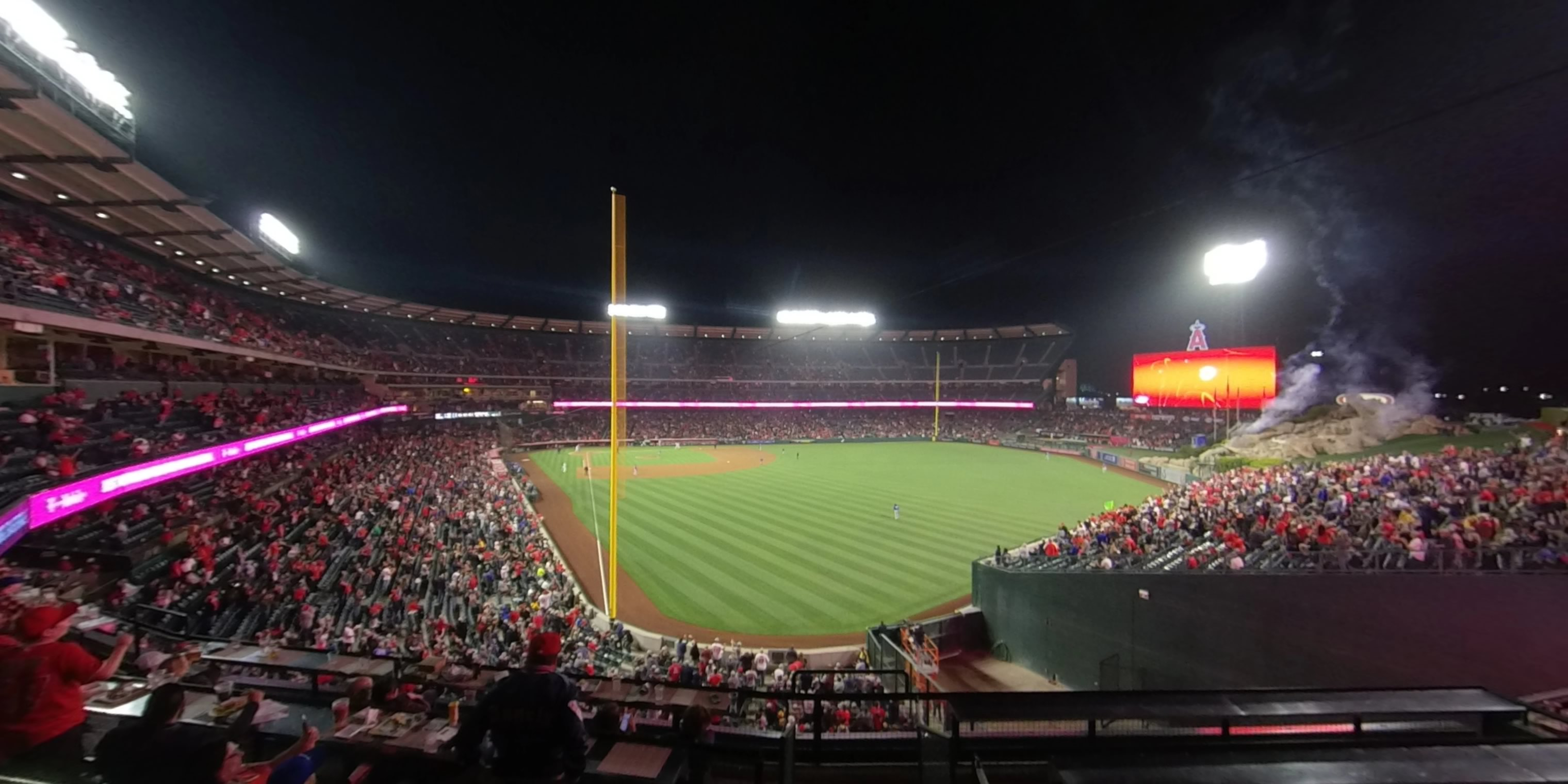 360° Photo From Angel Stadium Section 351