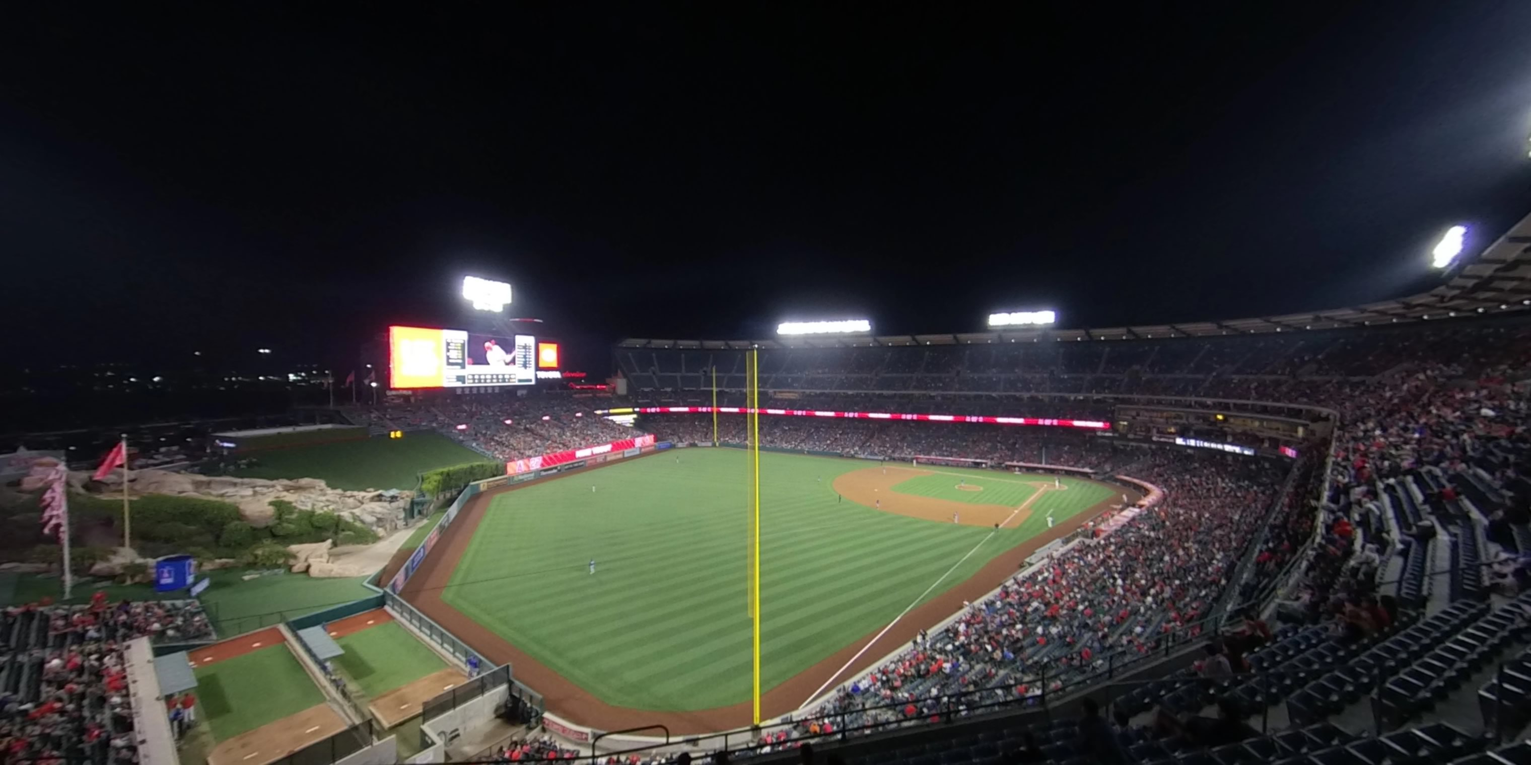 360° Photo From Angel Stadium Section 404