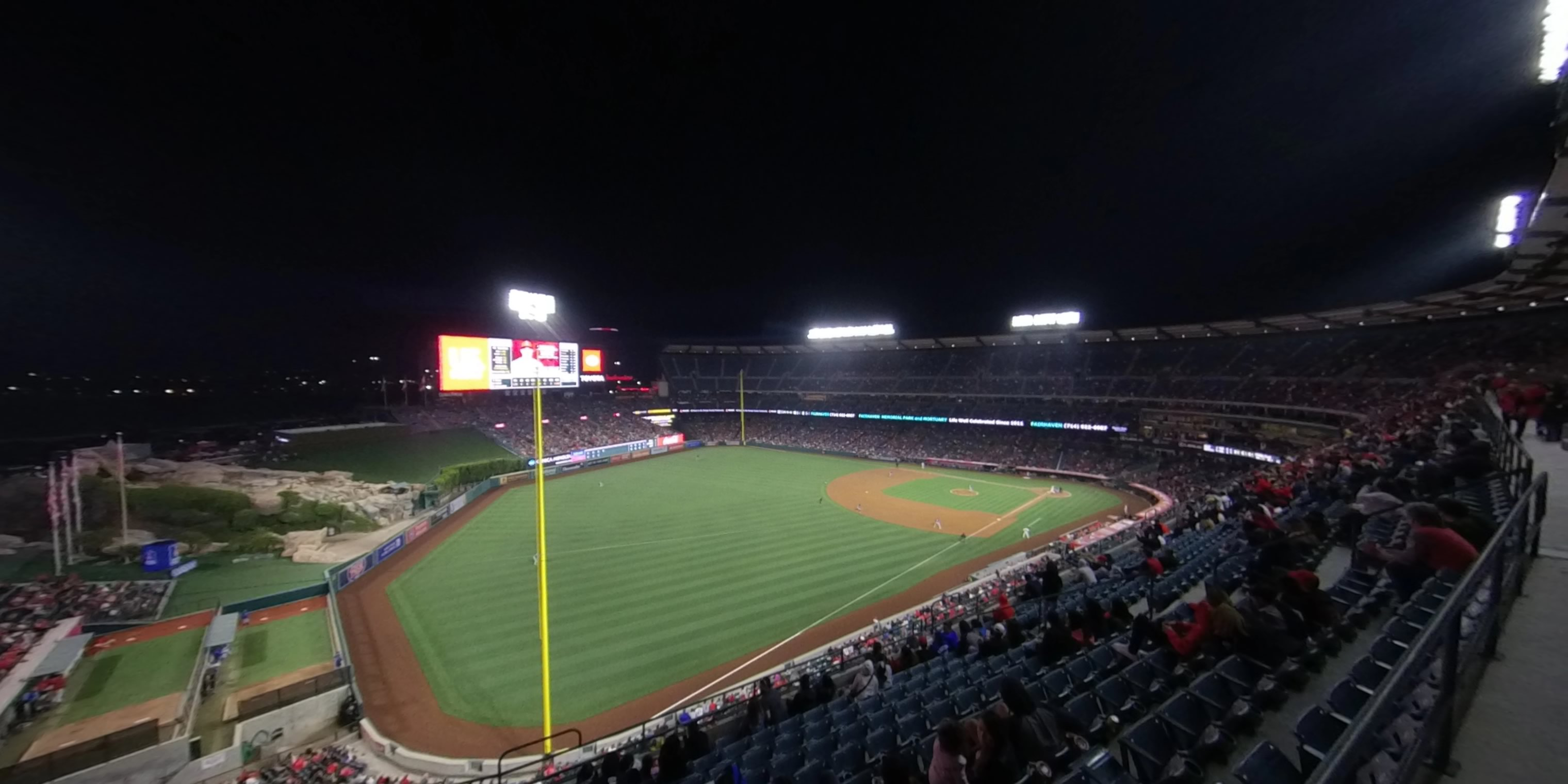 360° Photo From Angel Stadium Section 405
