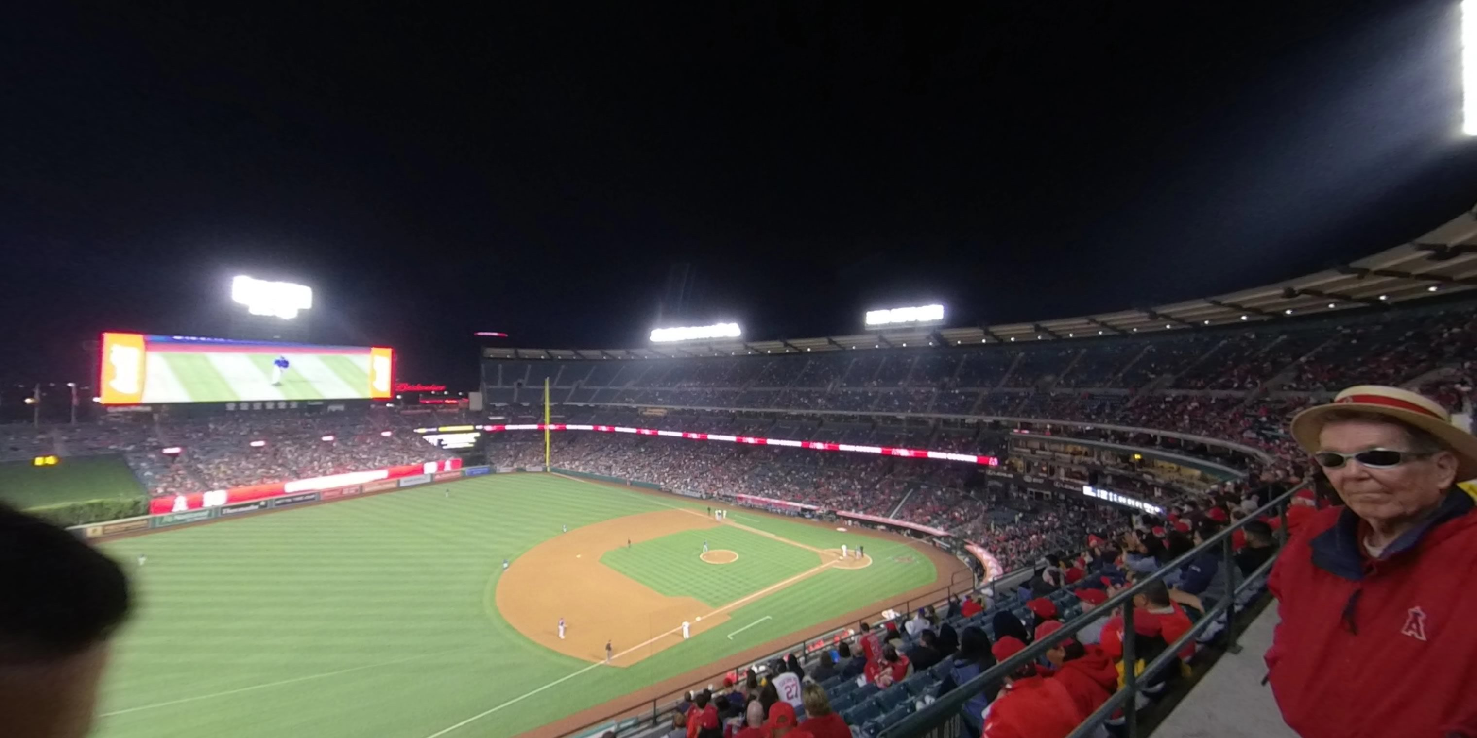 360° Photo From Angel Stadium Section 410