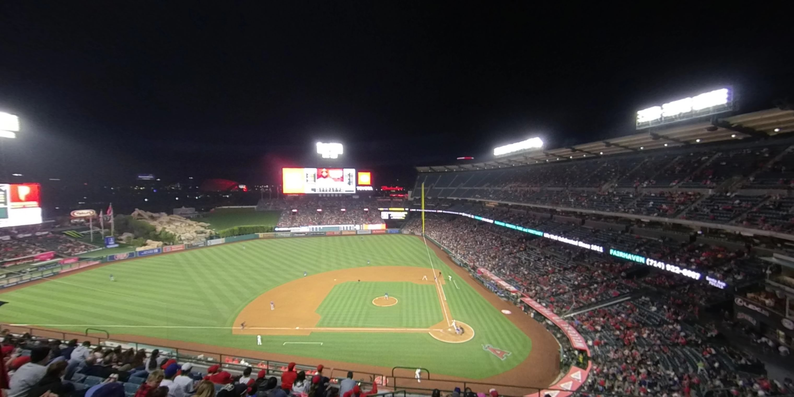 360° Photo From Angel Stadium Section 413