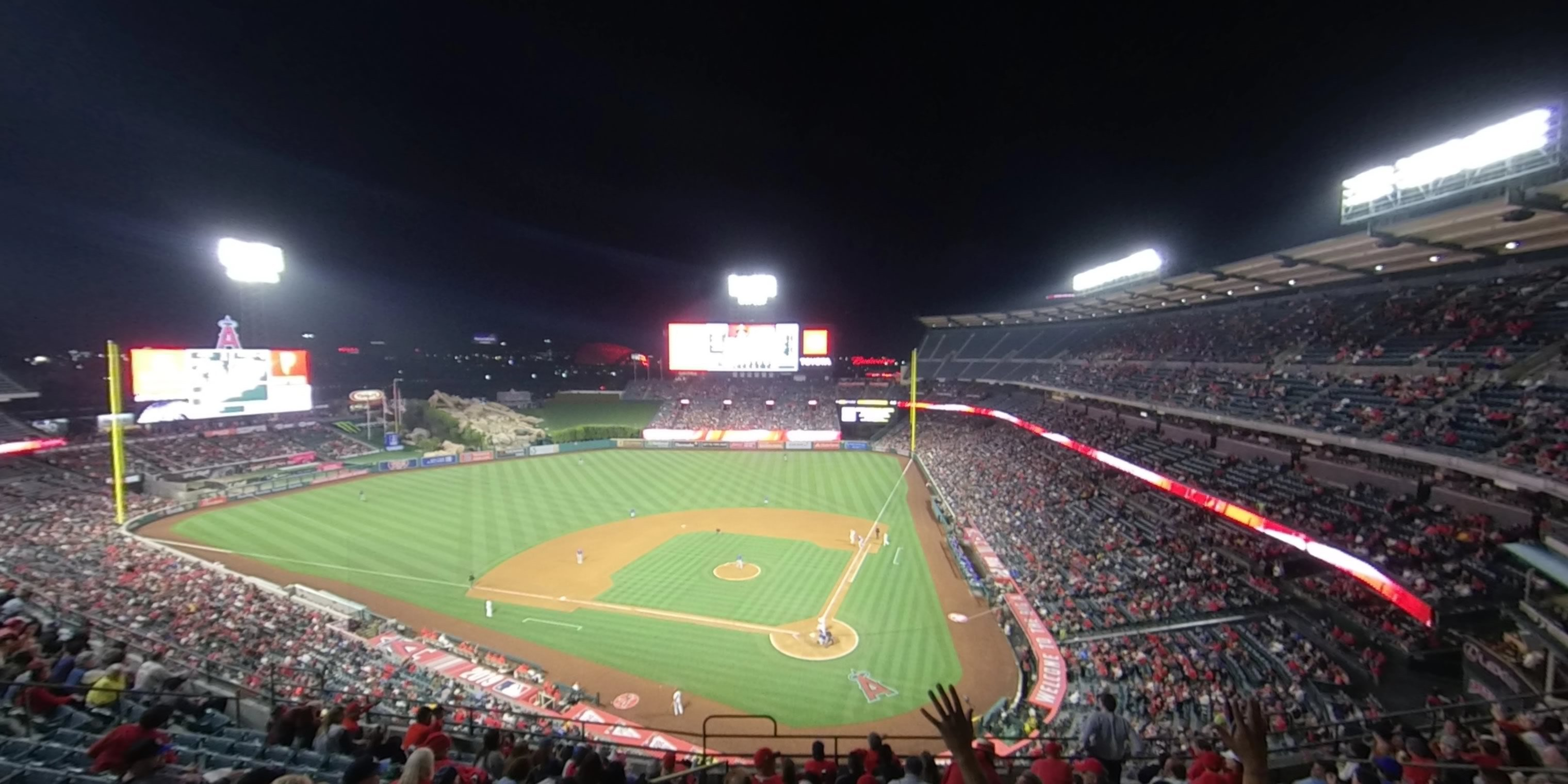 360° Photo From Angel Stadium Section 415