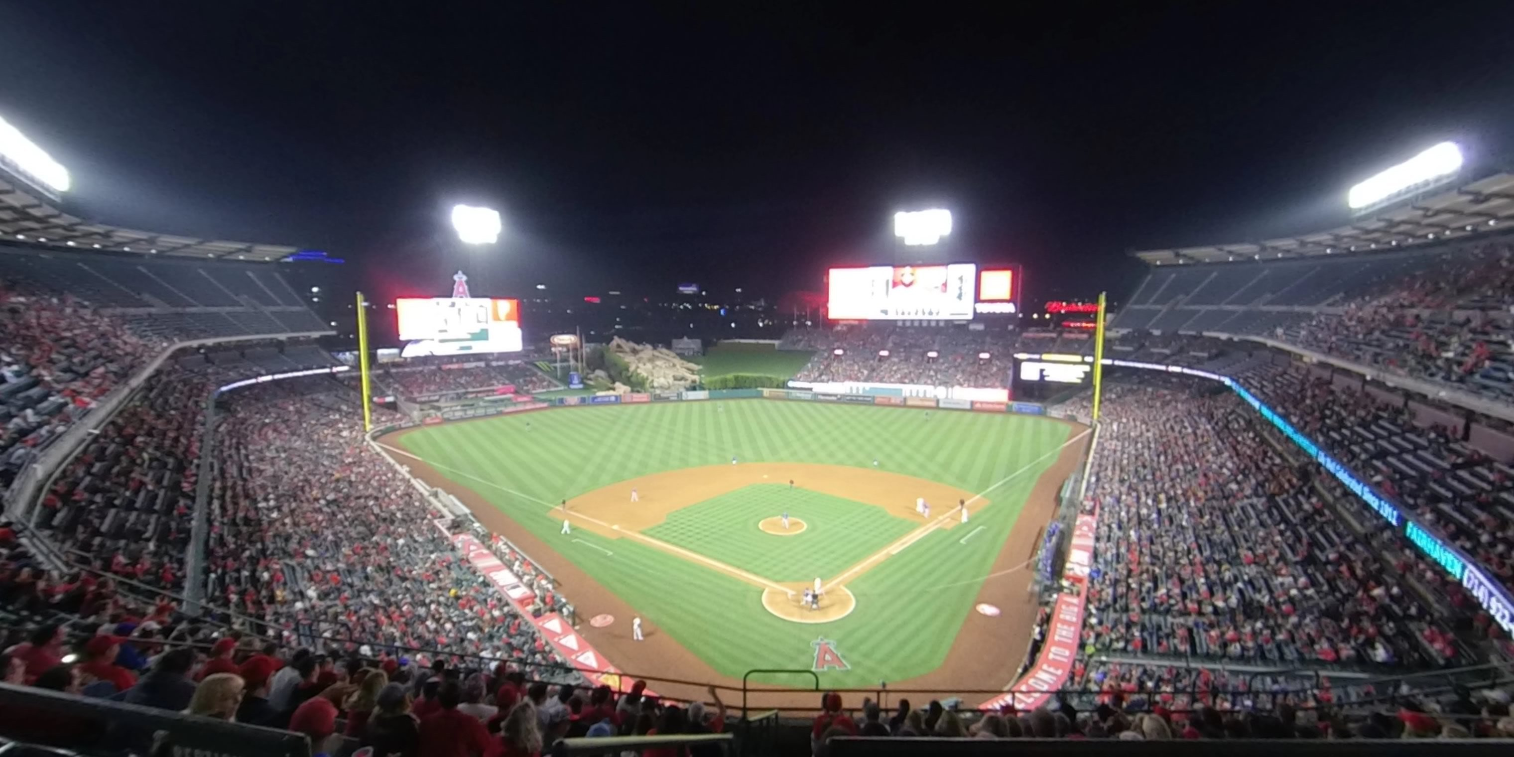 360° Photo From Angel Stadium Section 418