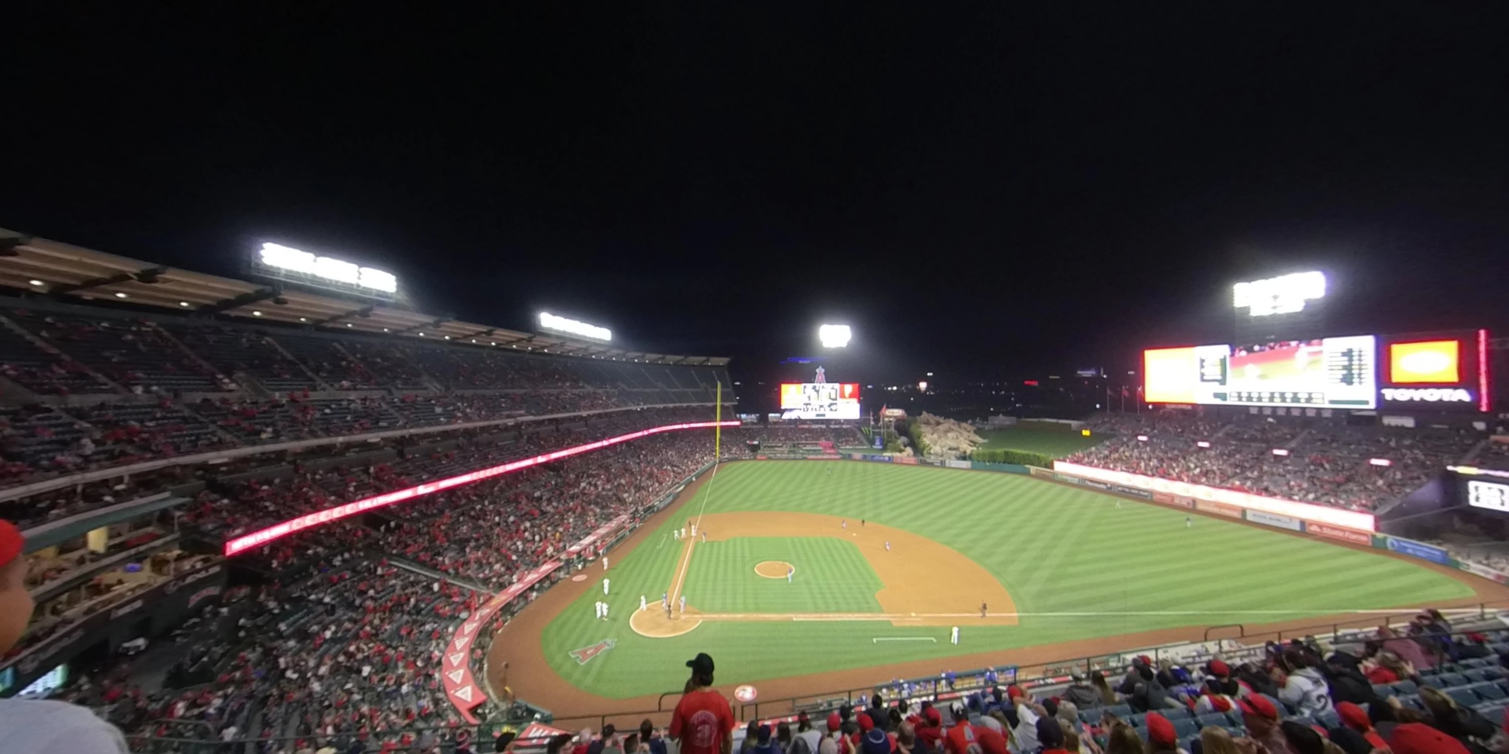 360° Photo From Angel Stadium Section 424