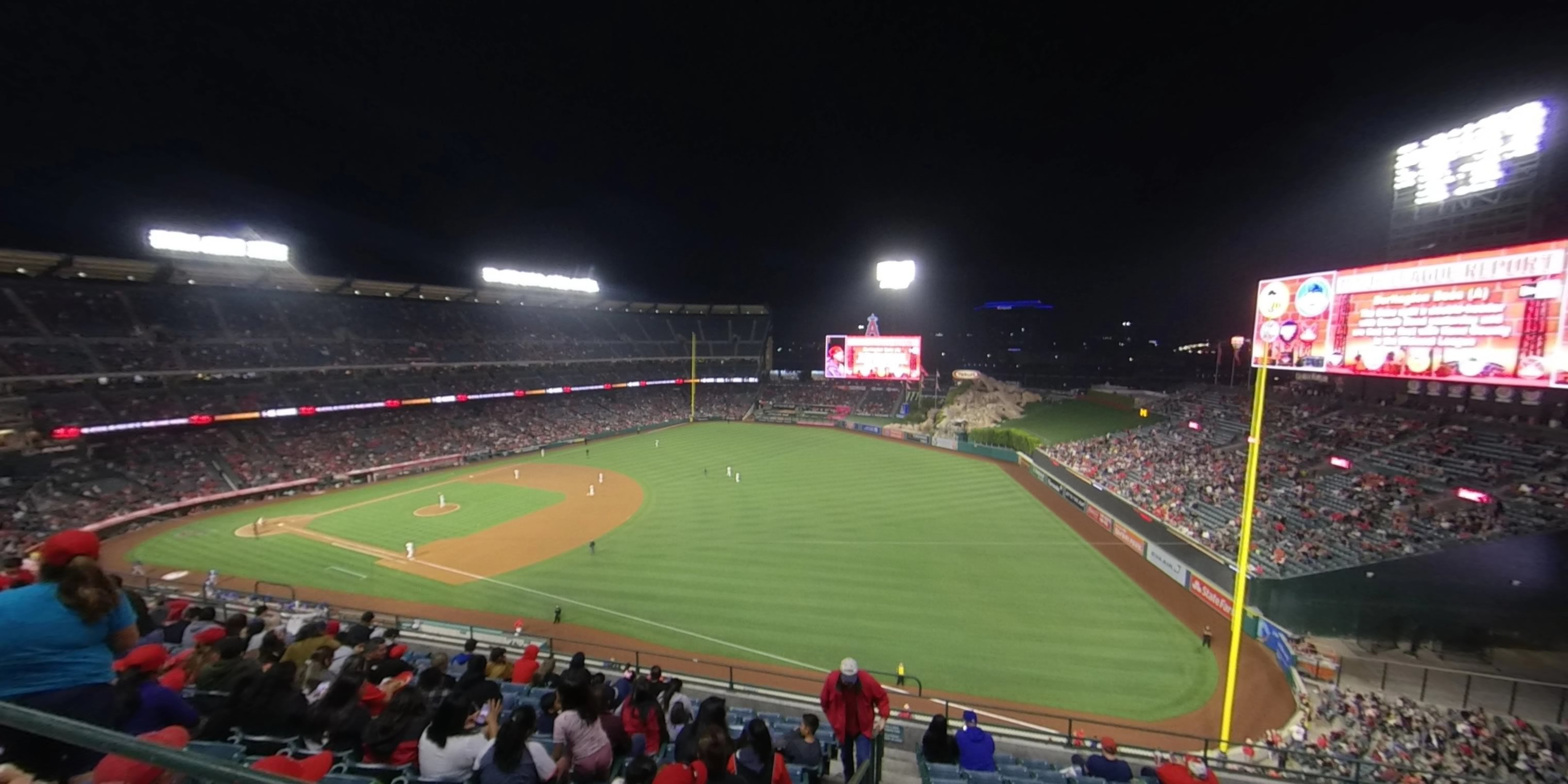360° Photo From Angel Stadium Section 429