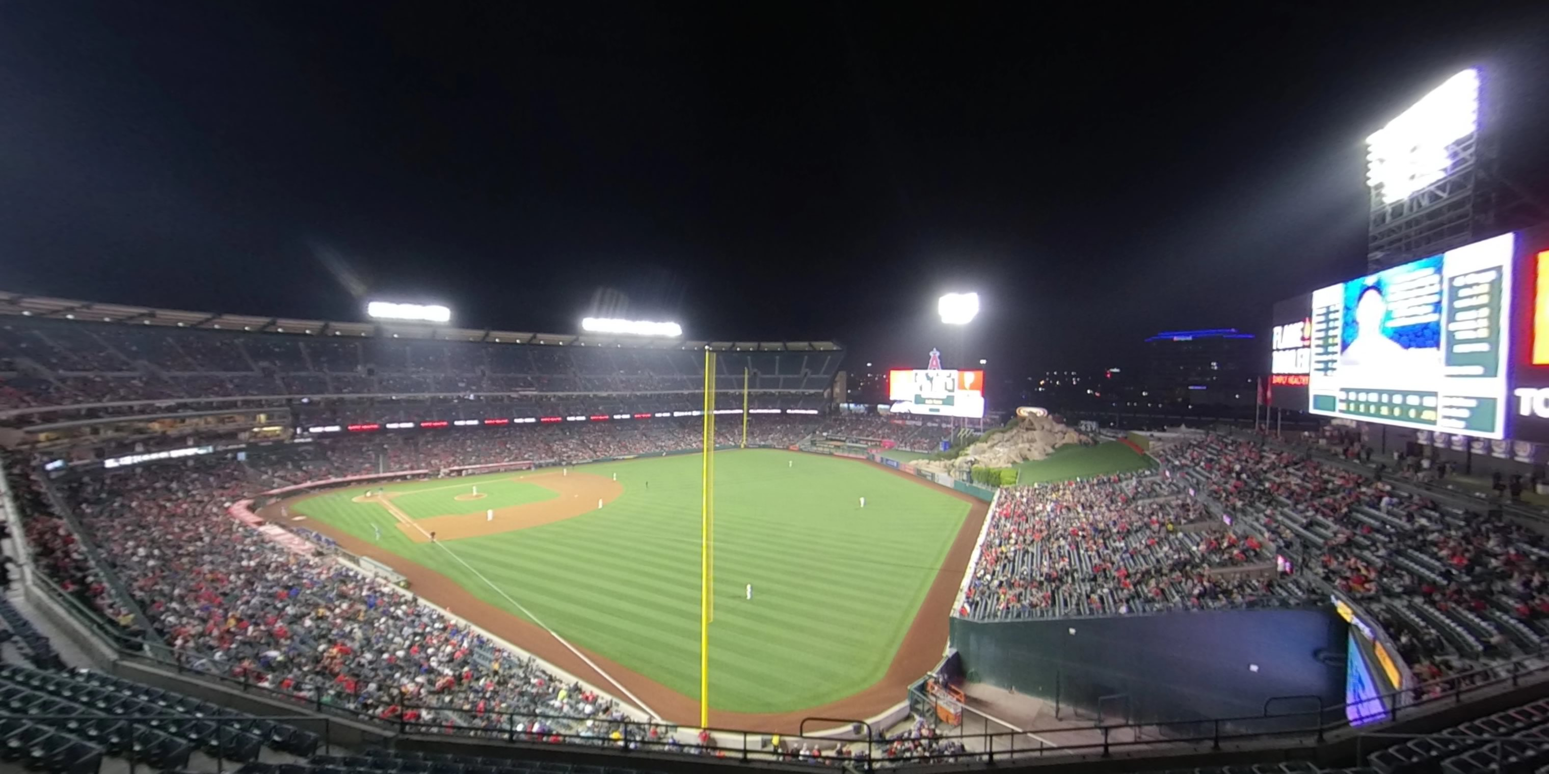 360° Photo From Angel Stadium Section 433