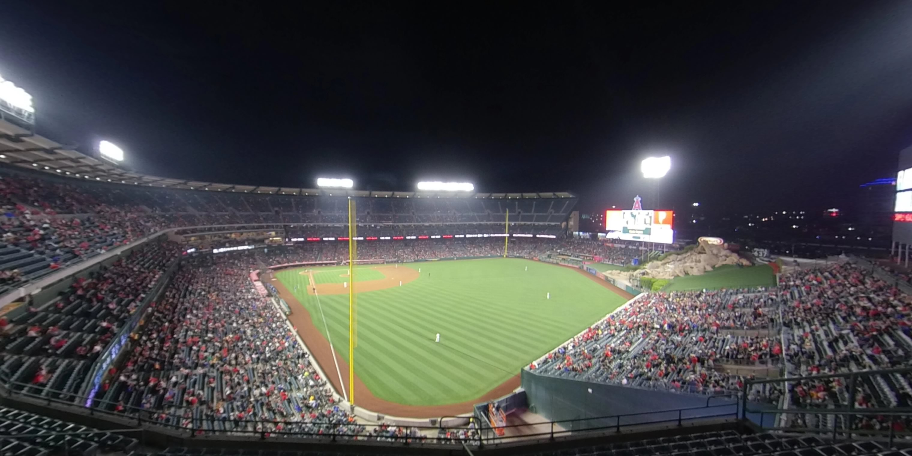360° Photo From Angel Stadium Section 436