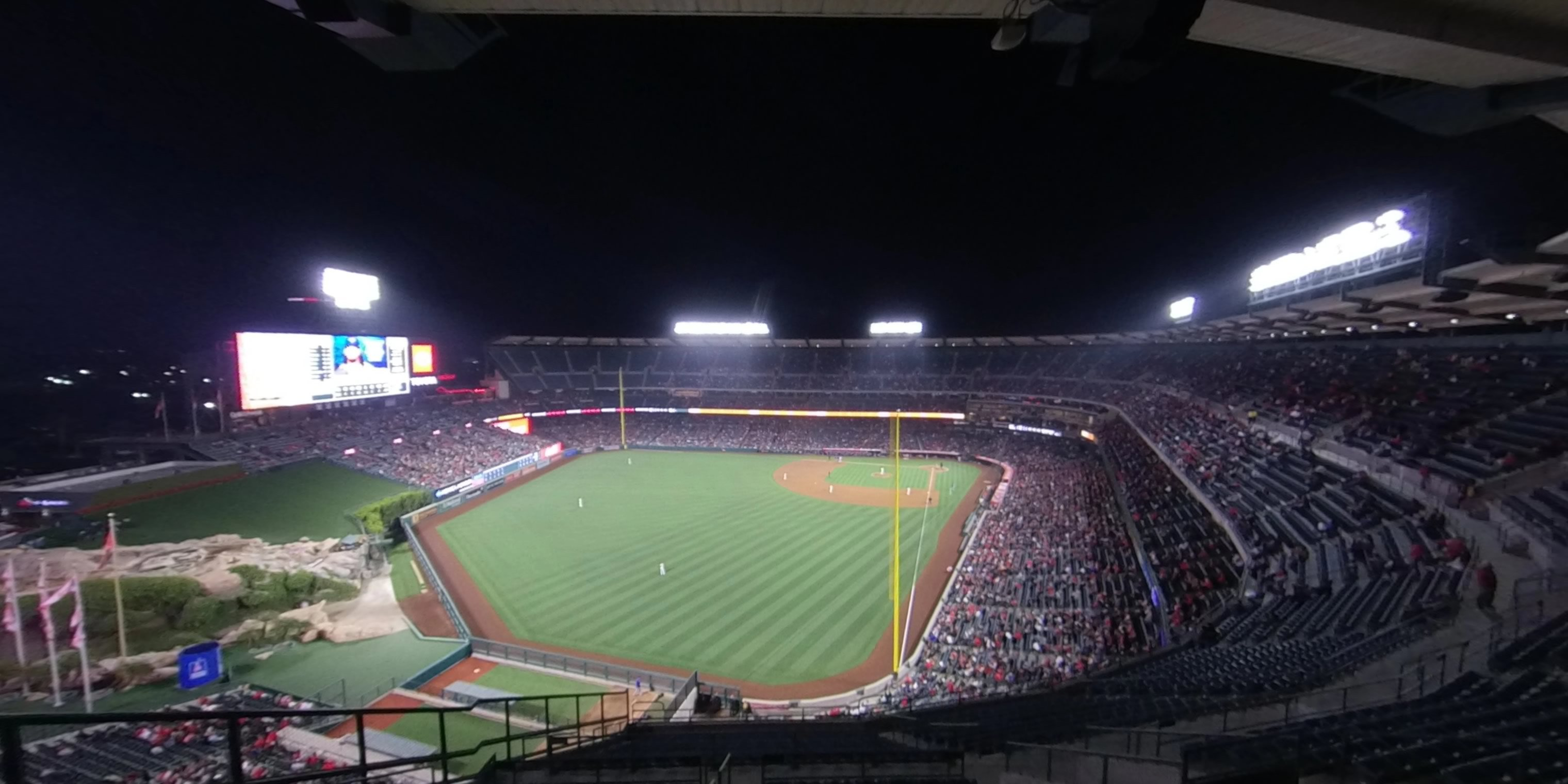 360° Photo From Angel Stadium Section 501