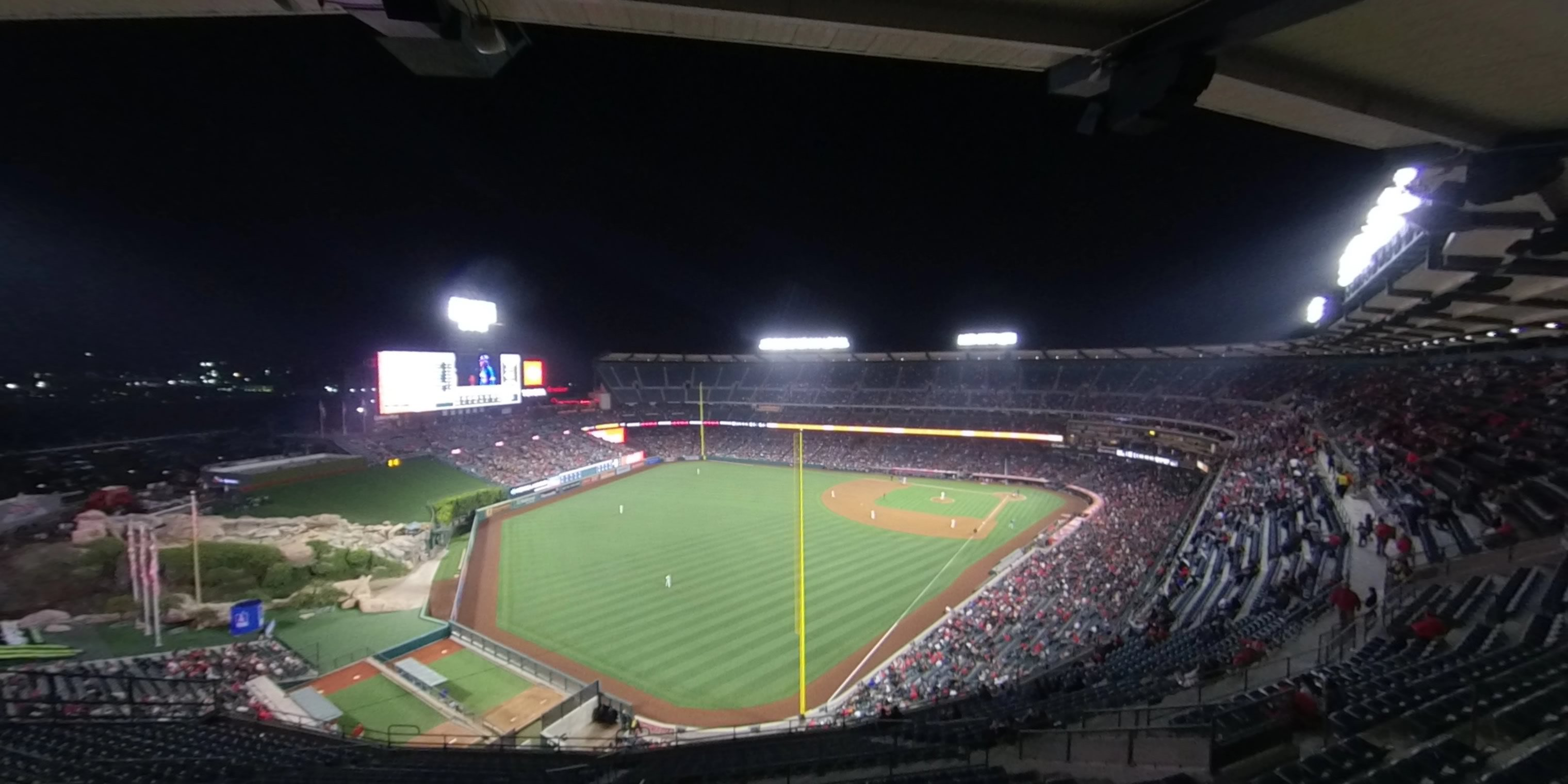360° Photo From Angel Stadium Section 503