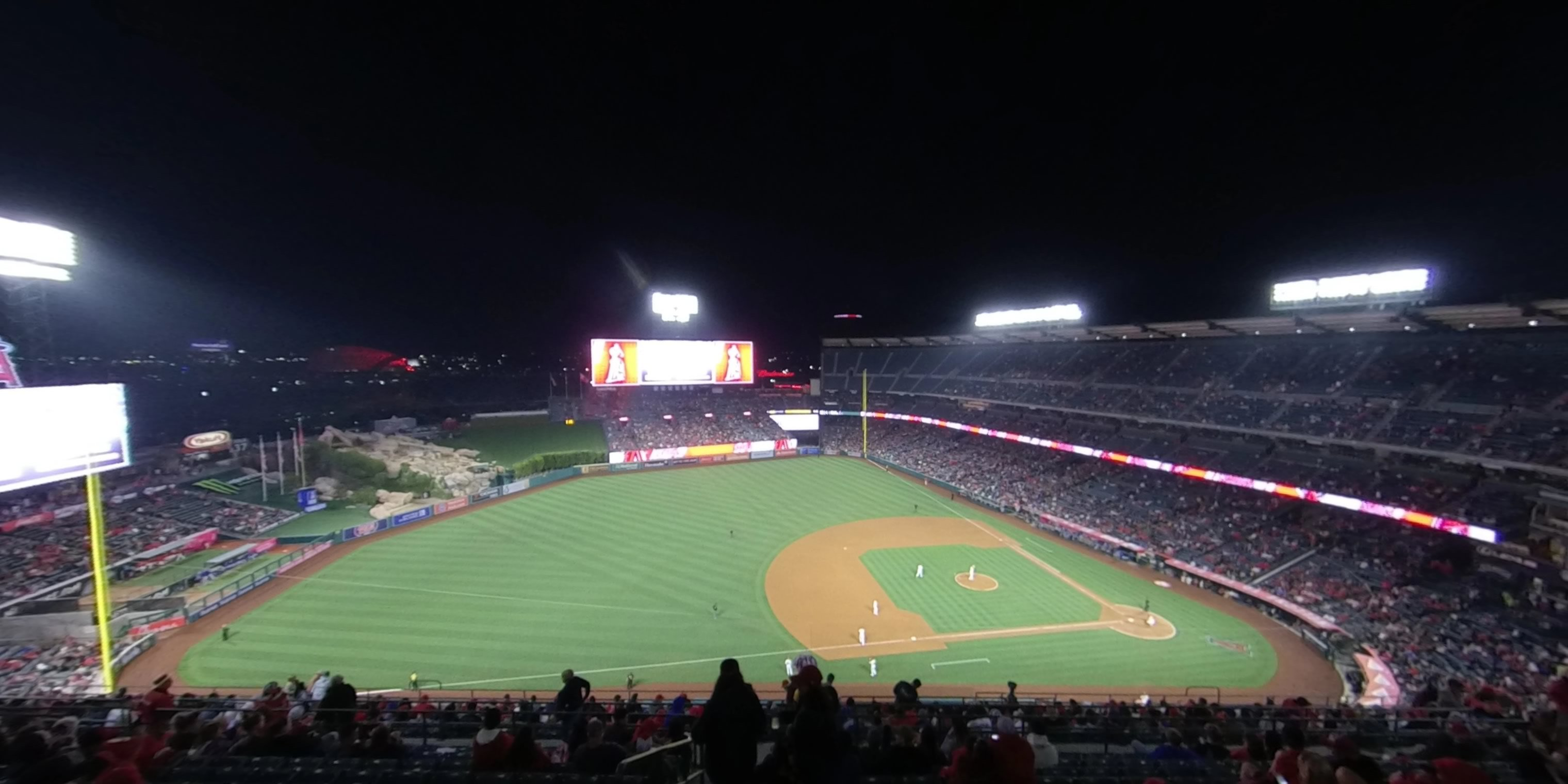 360° Photo From Angel Stadium Section 511