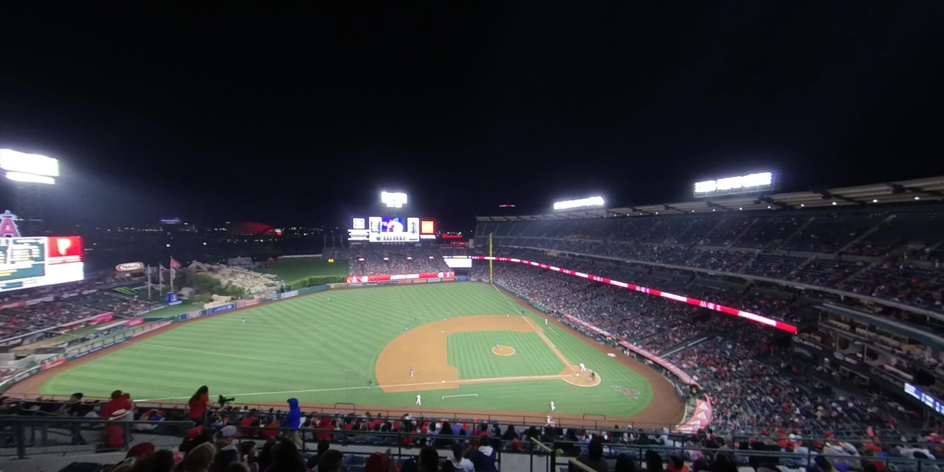 360° Photo From Angel Stadium Section 513