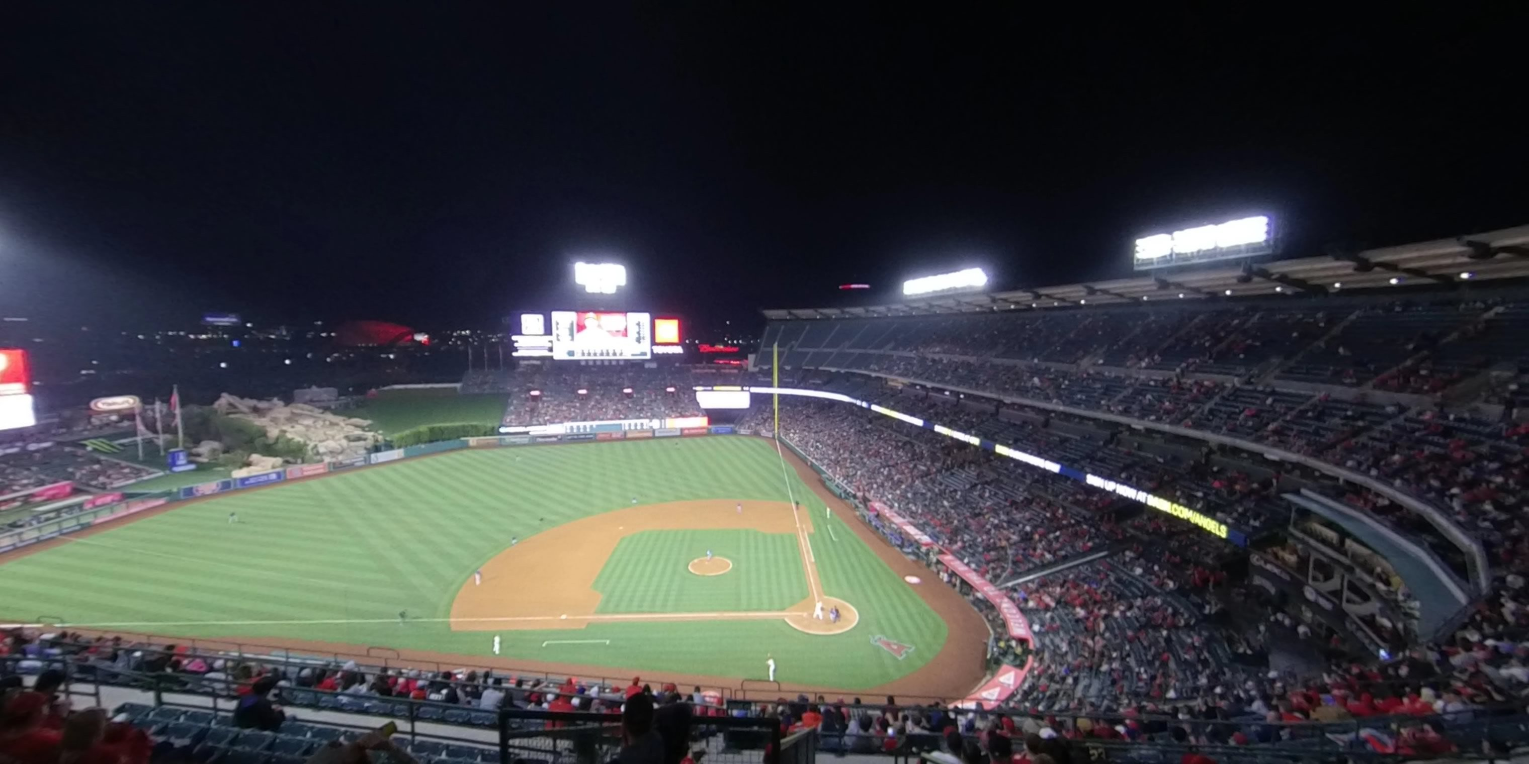 360° Photo From Angel Stadium Section 515