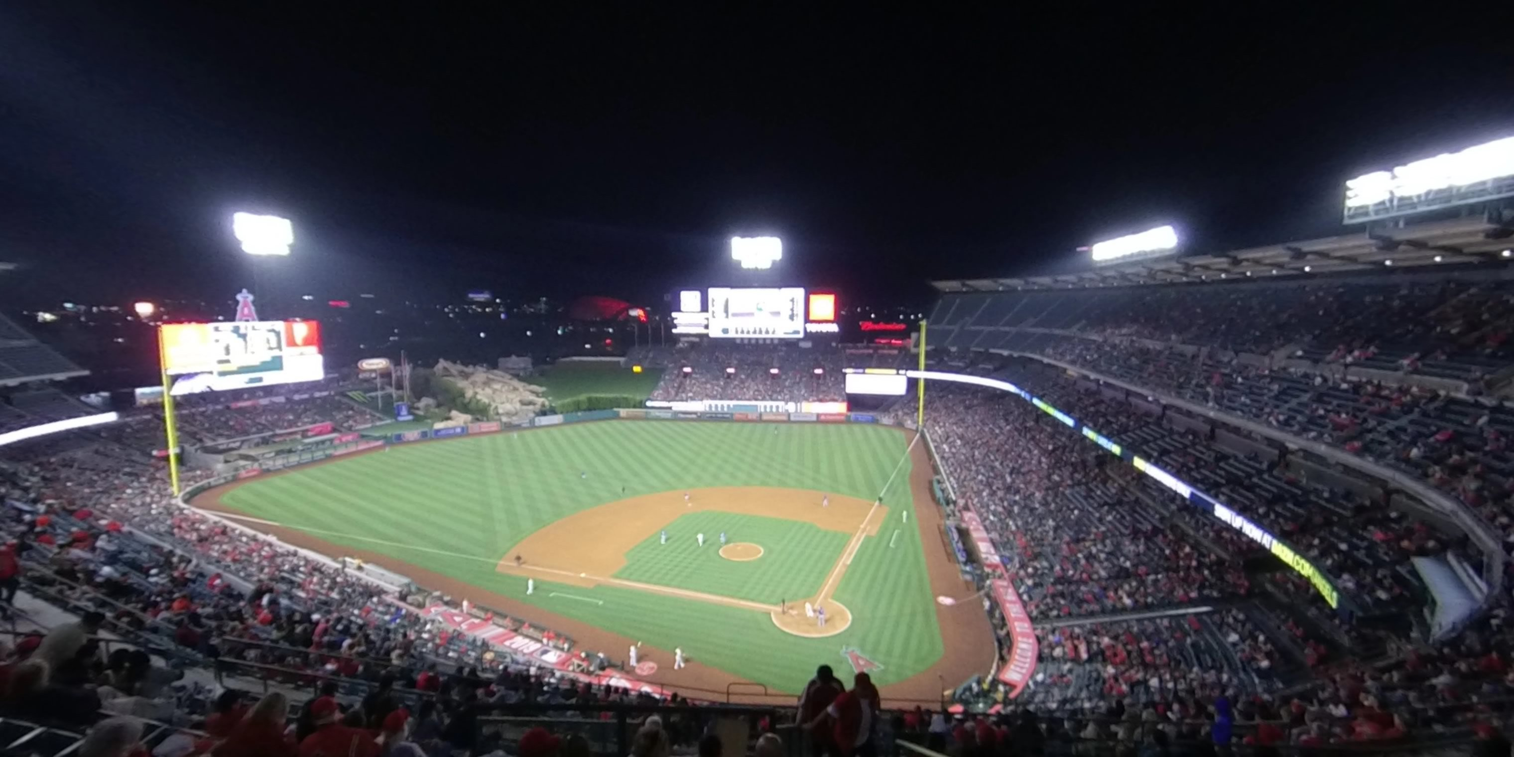 360° Photo From Angel Stadium Section 517