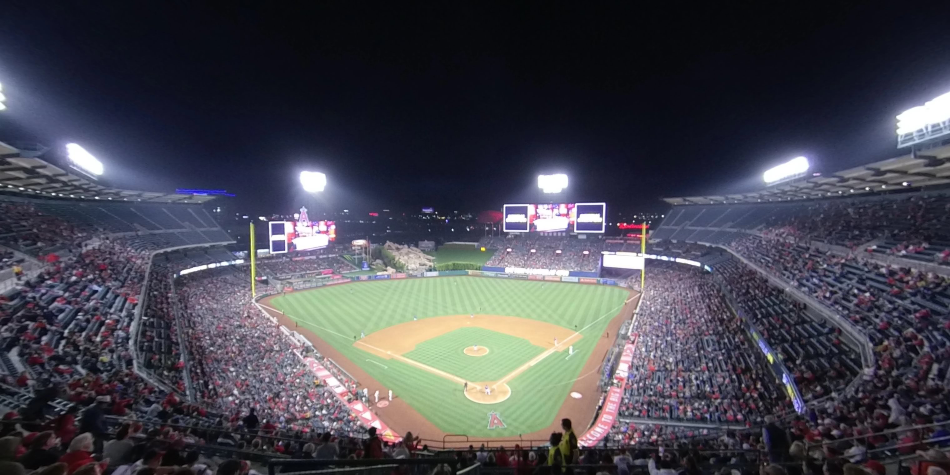 360° Photo From Angel Stadium Section 520