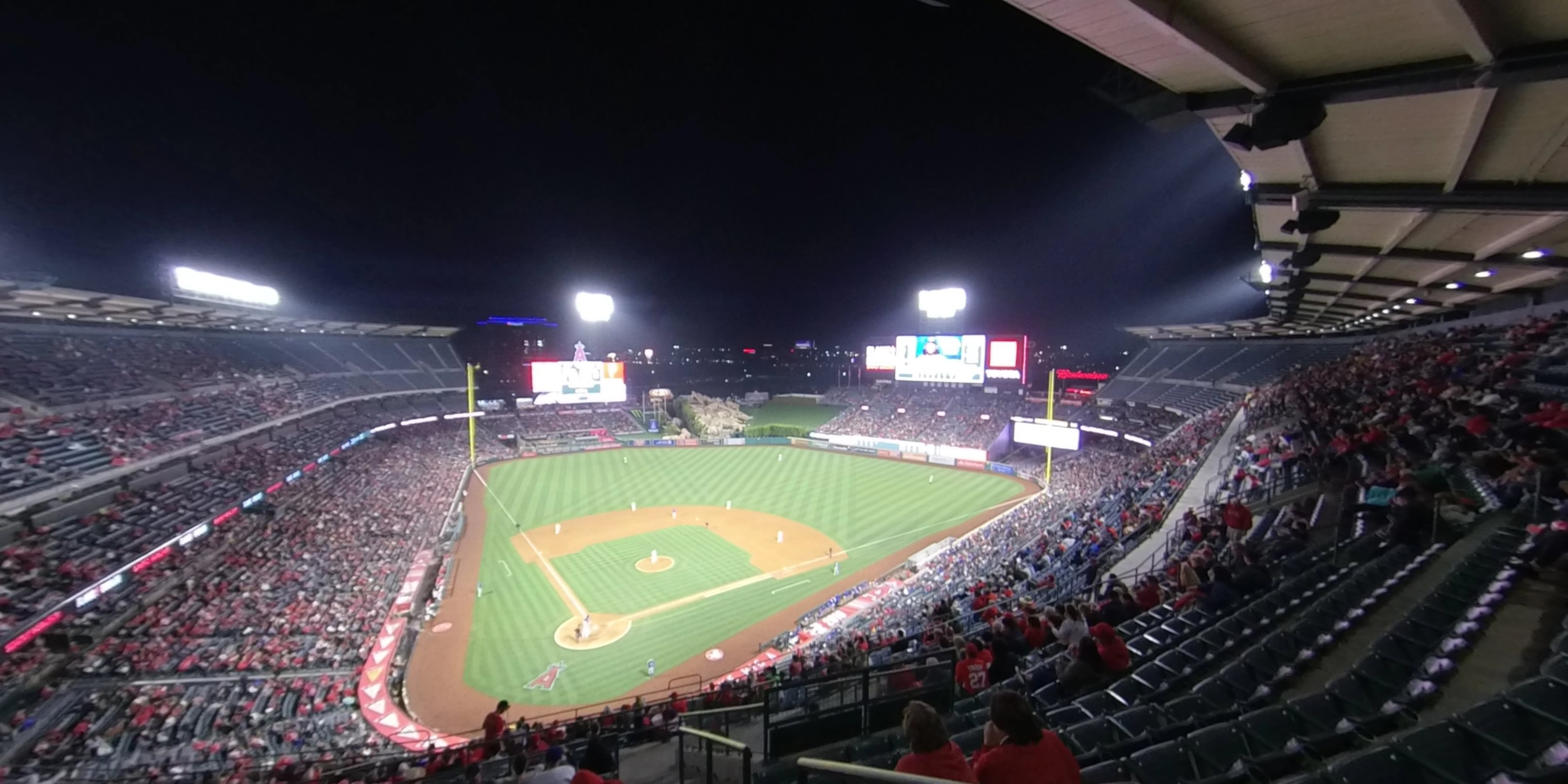 360° Photo From Angel Stadium Section 524
