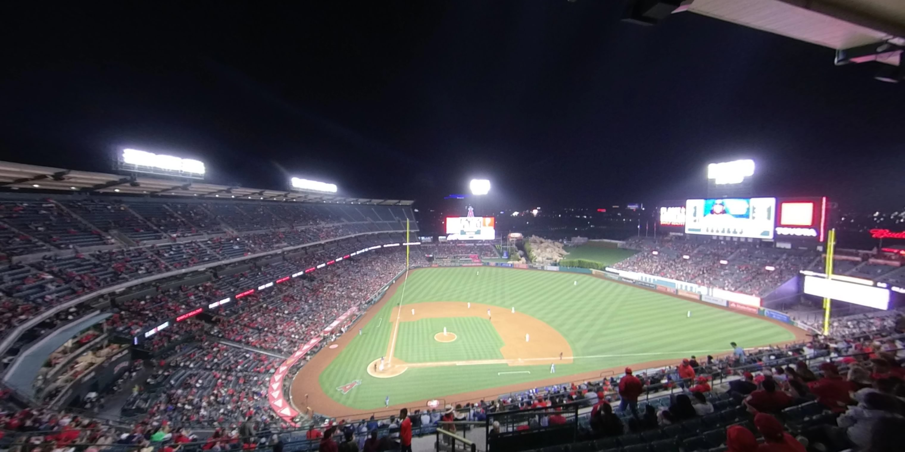 360° Photo From Angel Stadium Section 526