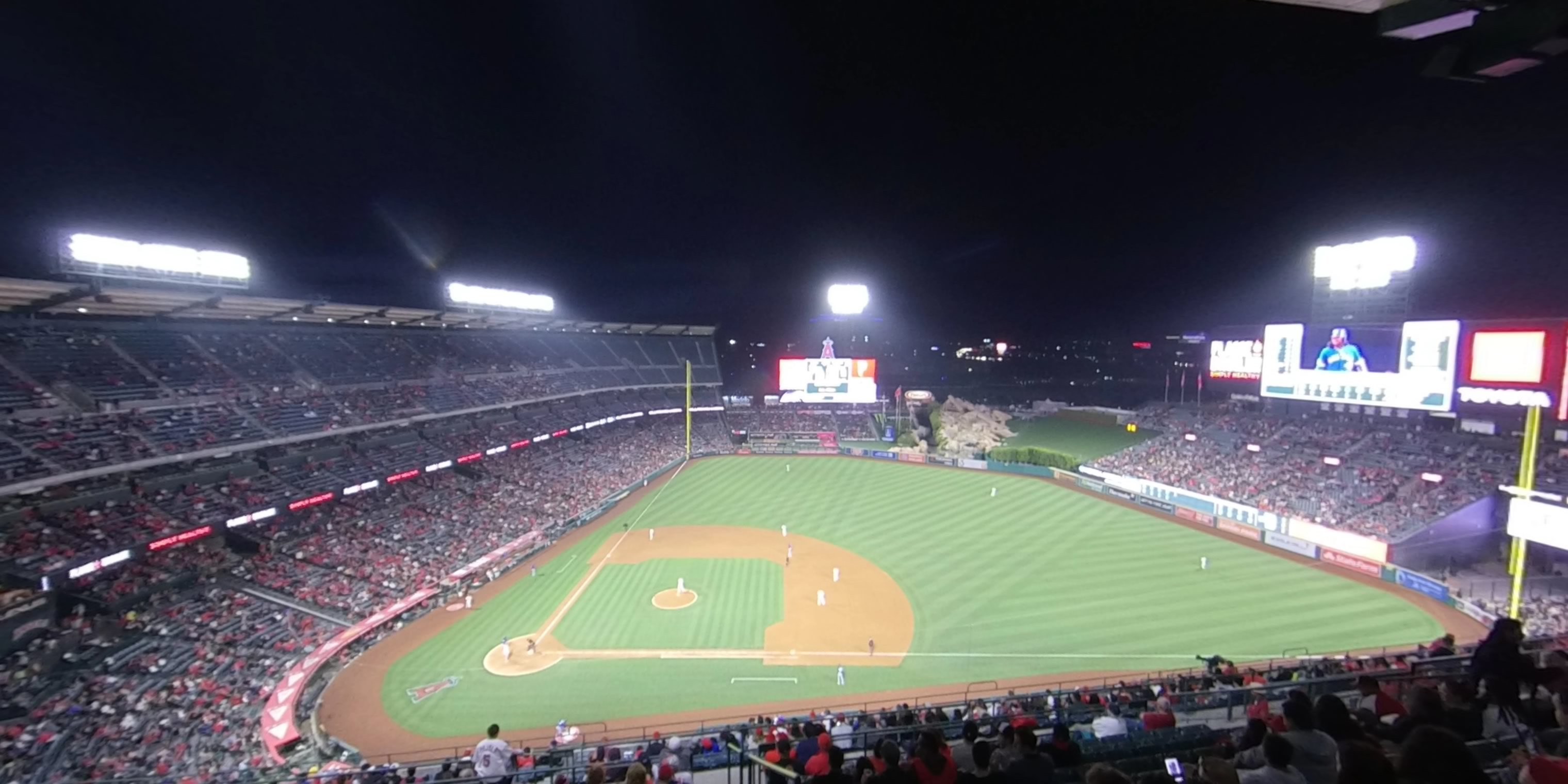 360° Photo From Angel Stadium Section 527