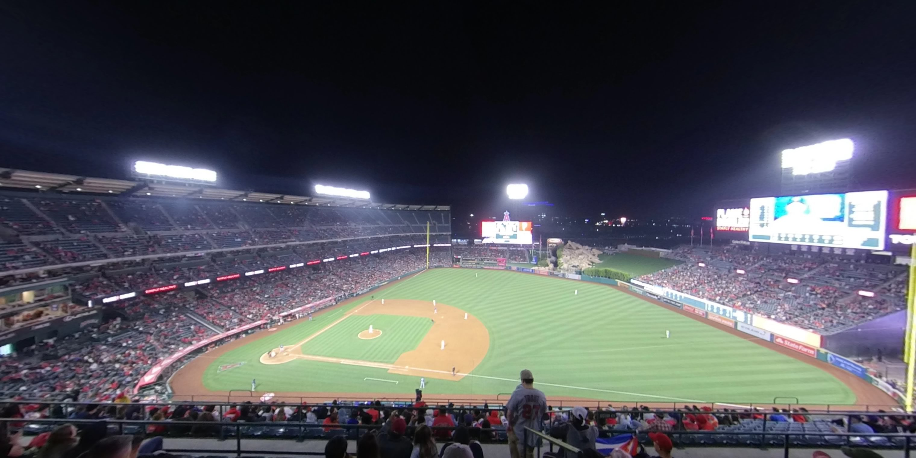 360° Photo From Angel Stadium Section 529