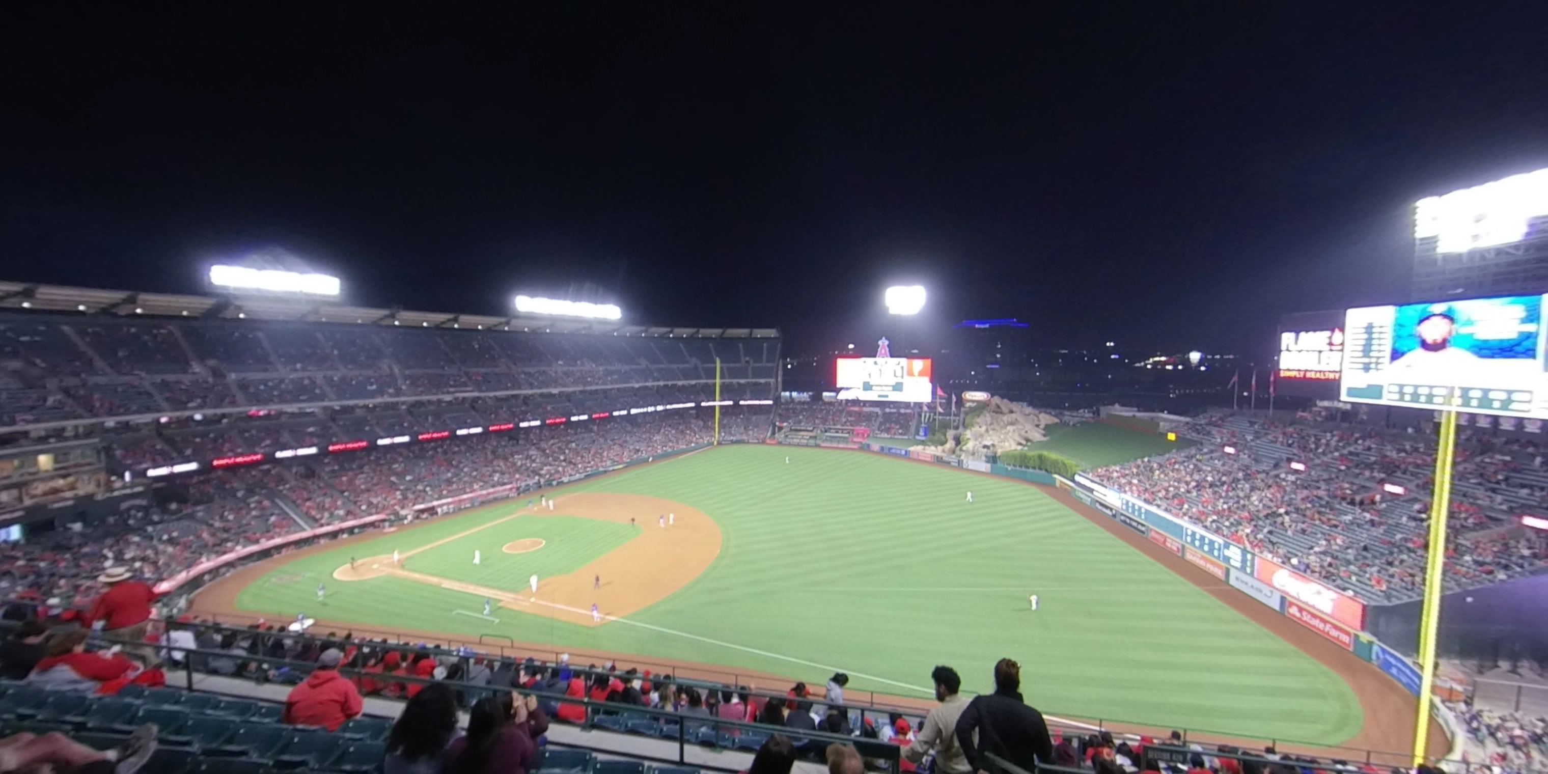 360° Photo From Angel Stadium Section 531