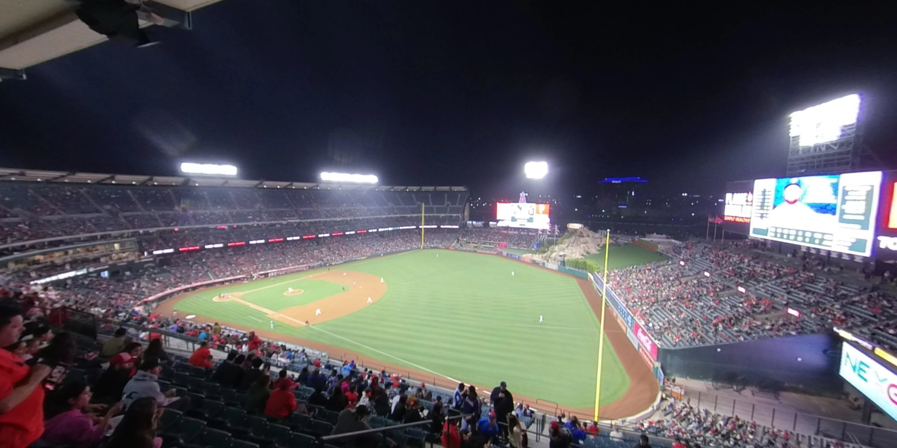 360° Photo From Angel Stadium Section 533