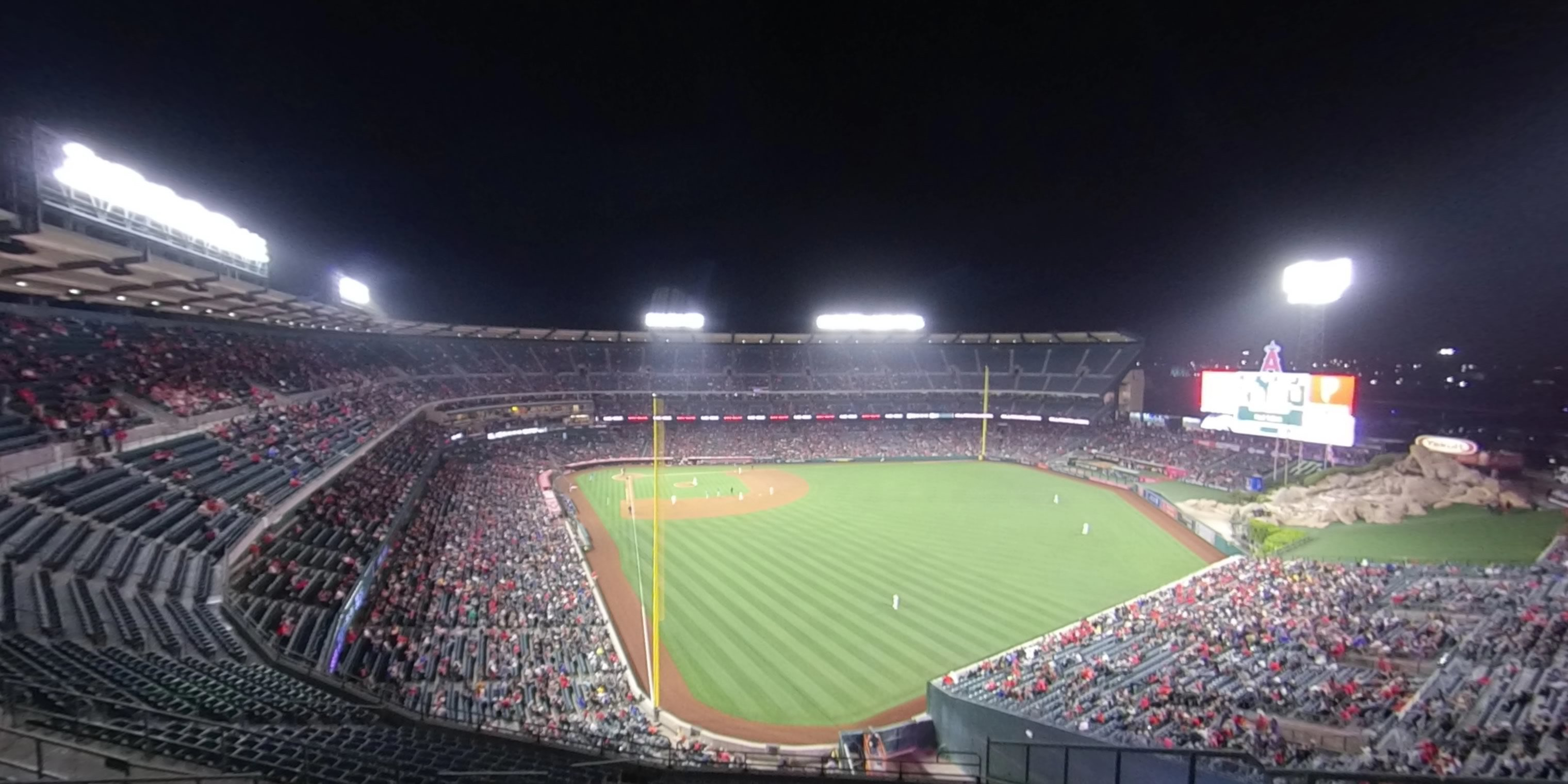 360° Photo From Angel Stadium Section 540