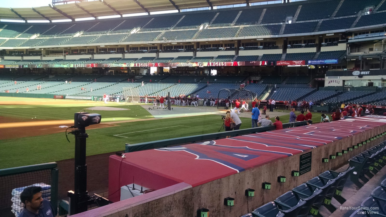 Angel Stadium Section 110 Rateyourseatscom
