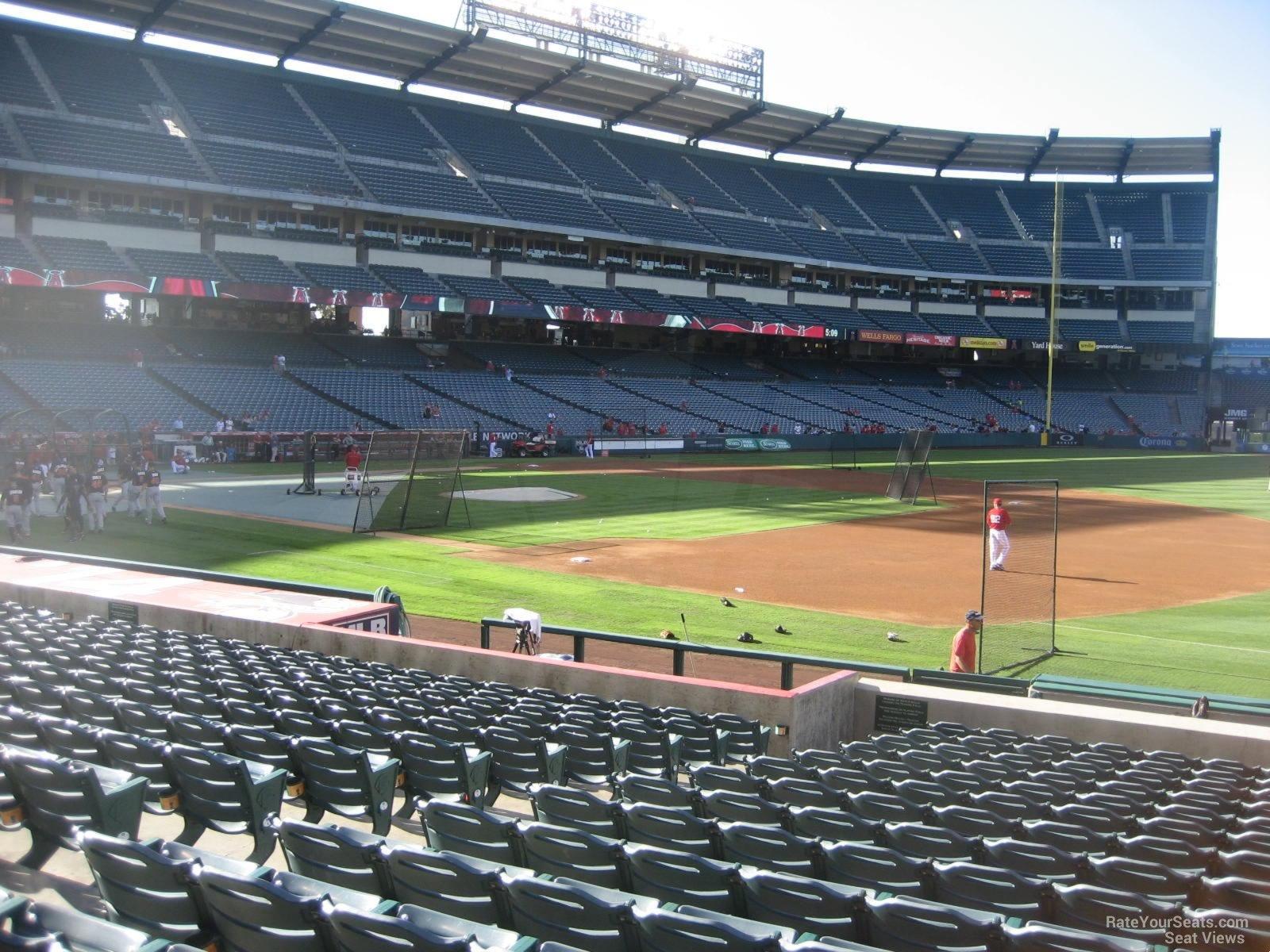 Angel Stadium Section 127 Rateyourseatscom