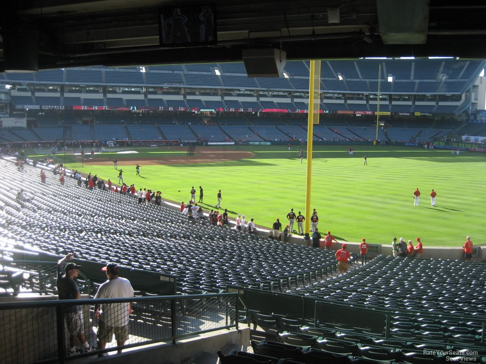 Seat View for Angel Stadium Section 231, Row K