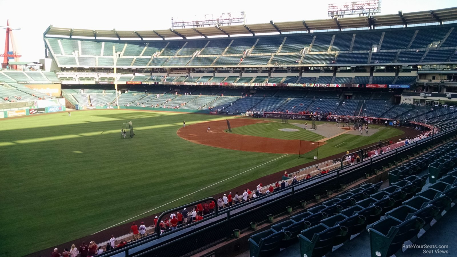 Seat View for Angel Stadium Section 307, Row F