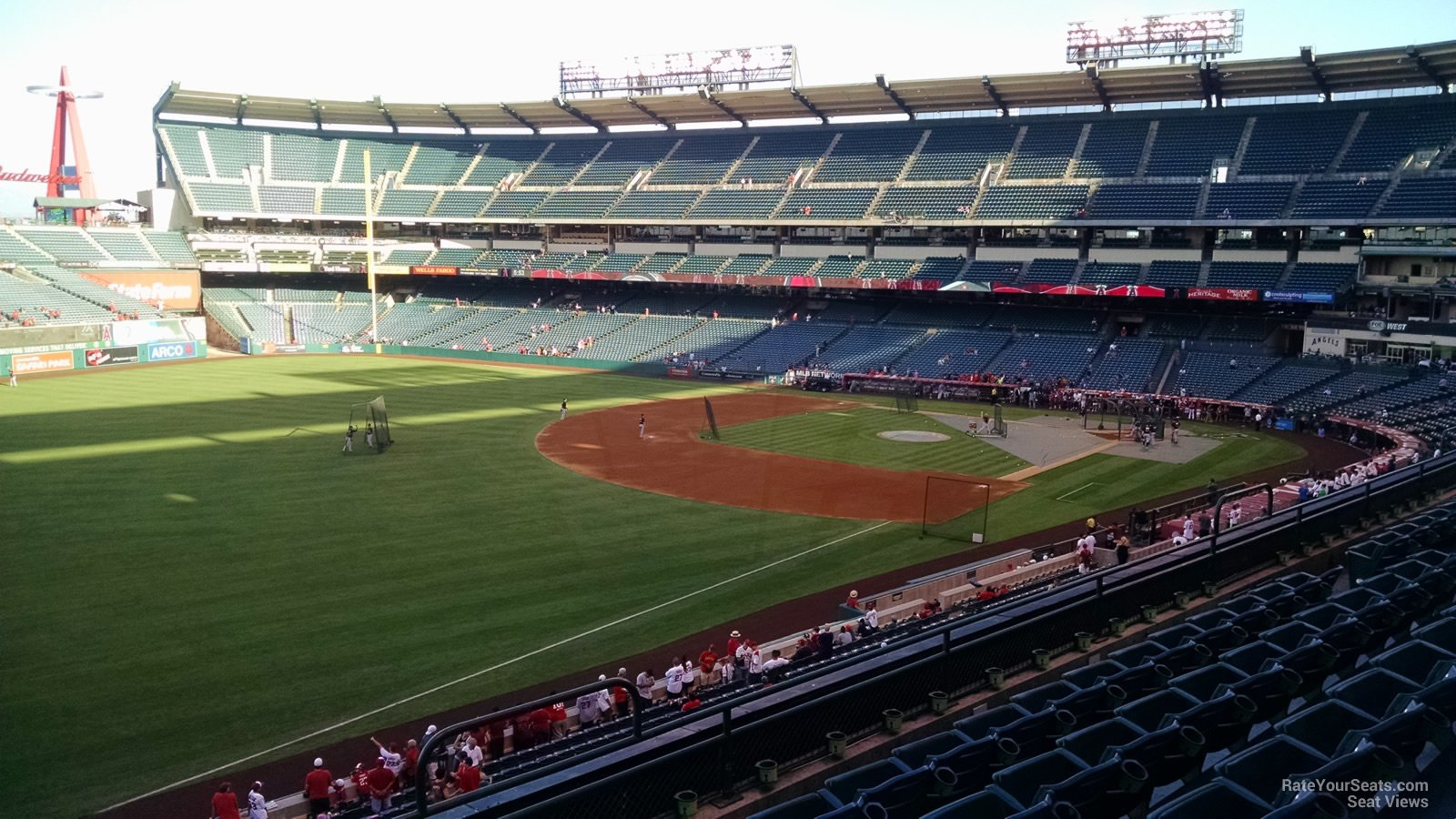 Seat View for Angel Stadium Section 308, Row F