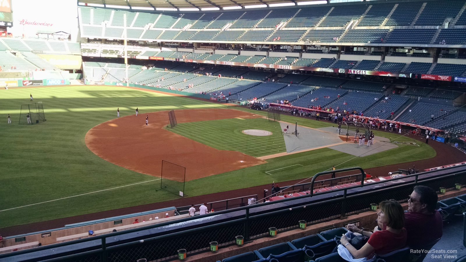 Seat View for Angel Stadium Section 313, Row F
