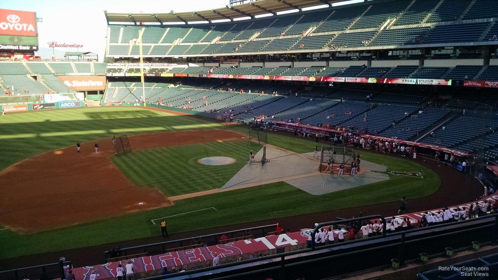 Angel Stadium Section 316 - RateYourSeats.com