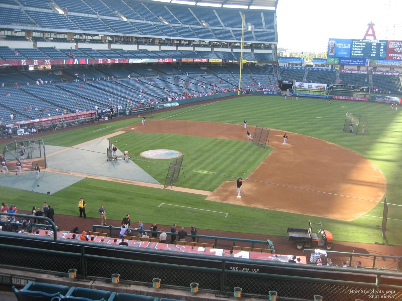 Seat View for Angel Stadium Section 336, Row F