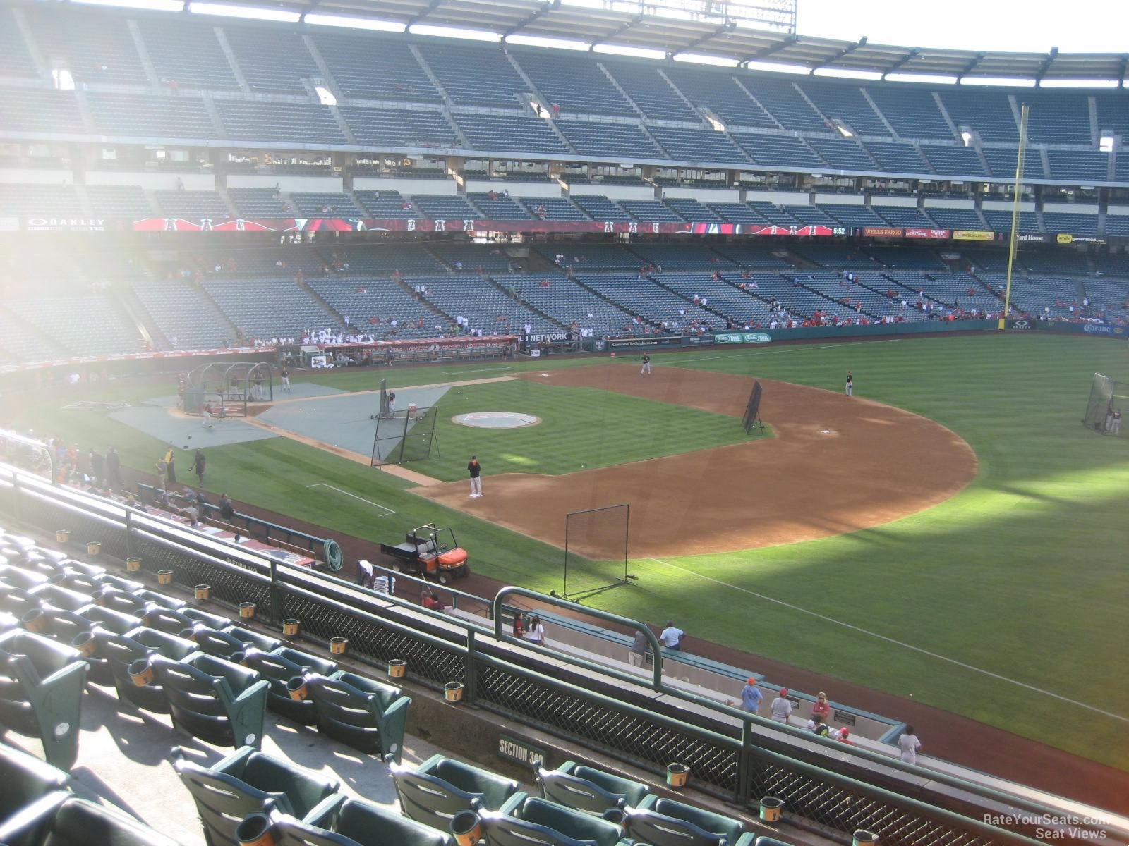Seat View for Angel Stadium Section 341, Row F