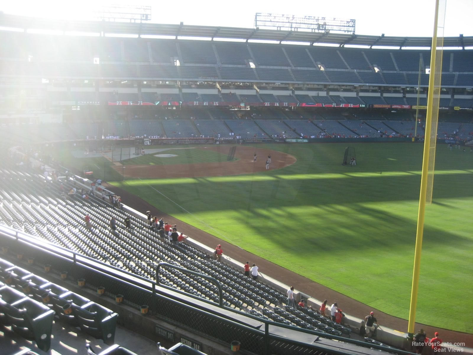 Seat View for Angel Stadium Section 348, Row F