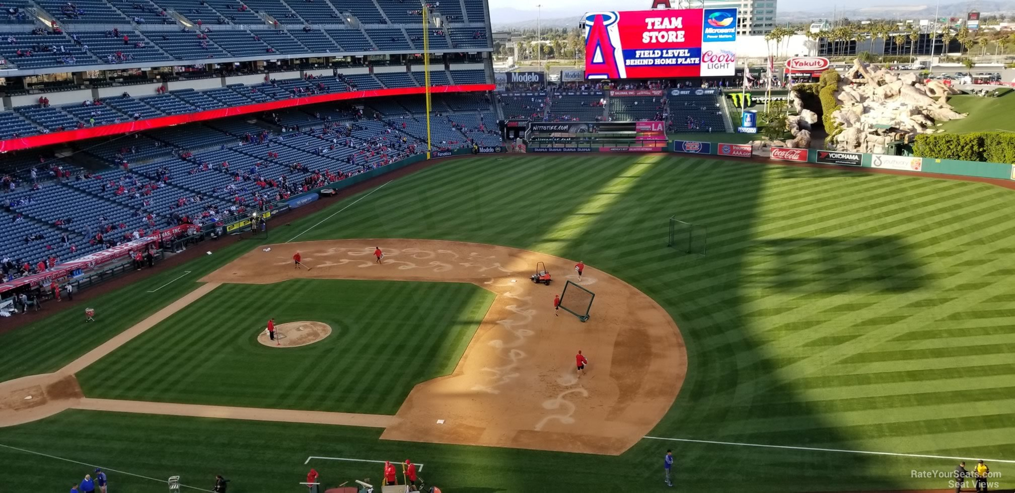 Angel Stadium Section 426 - RateYourSeats.com